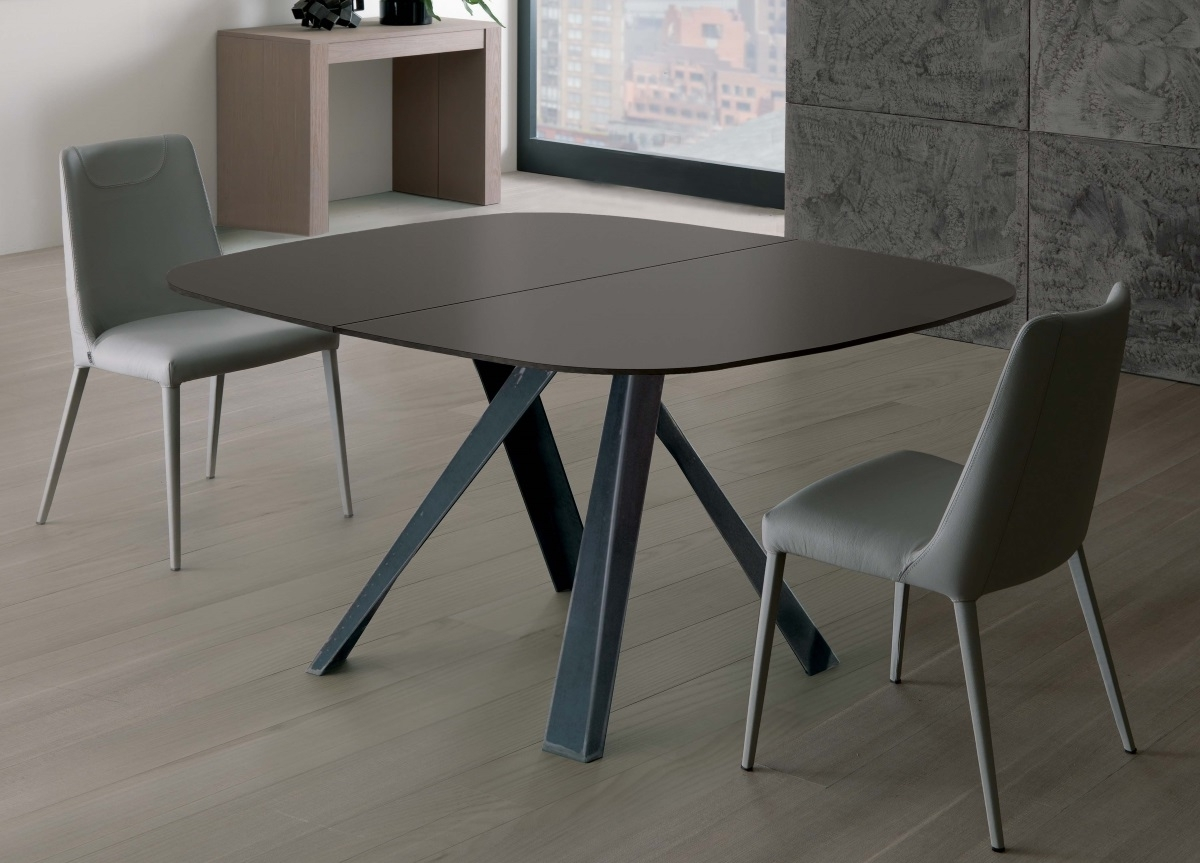 Contemporary Extending Dining Tables With Most Up To Date Ozzio Bombo Extending Dining Table (View 10 of 25)