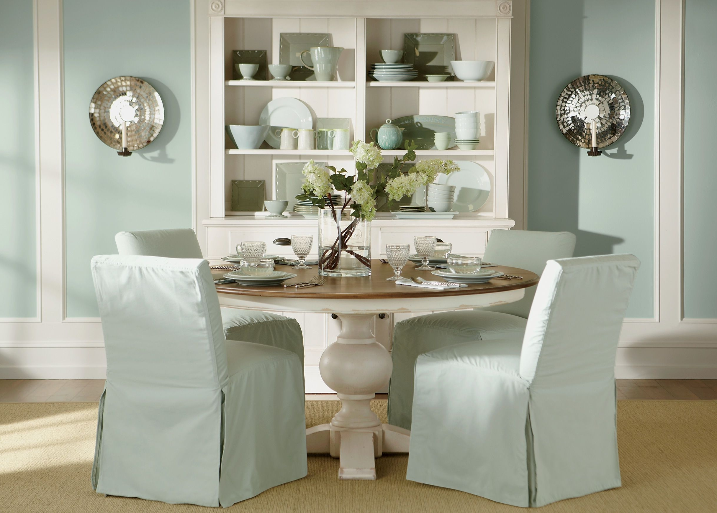 Cooper Dining Tables With Most Recent Cooper Round Dining Table , Rye / Cotton (226/610) , Large Gray (View 12 of 25)
