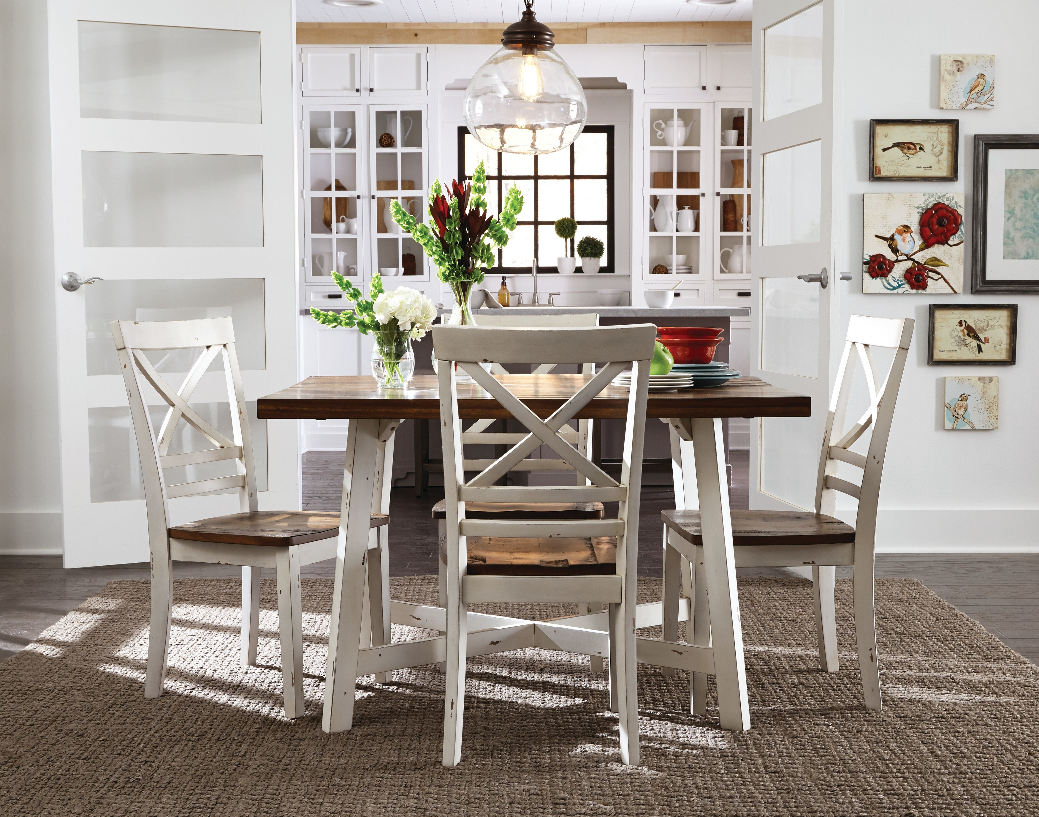 Cora 5 Piece Dining Sets Regarding Fashionable Dunnes 5 Piece Dining Set & Reviews (View 9 of 25)