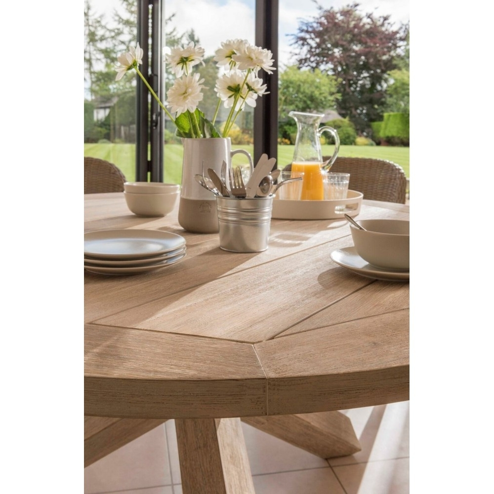 Cora Dining Tables Inside Latest Kettler Cora 240Cm X 100Cm Rectangular Acacia Wooden Dining Table (View 6 of 25)