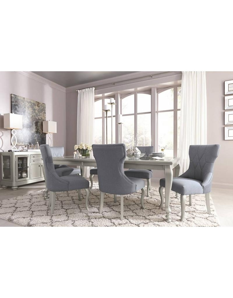 Coralayne 7 Piece Dining Set – Livin Style Furniture In Preferred Cora 7 Piece Dining Sets (View 2 of 25)