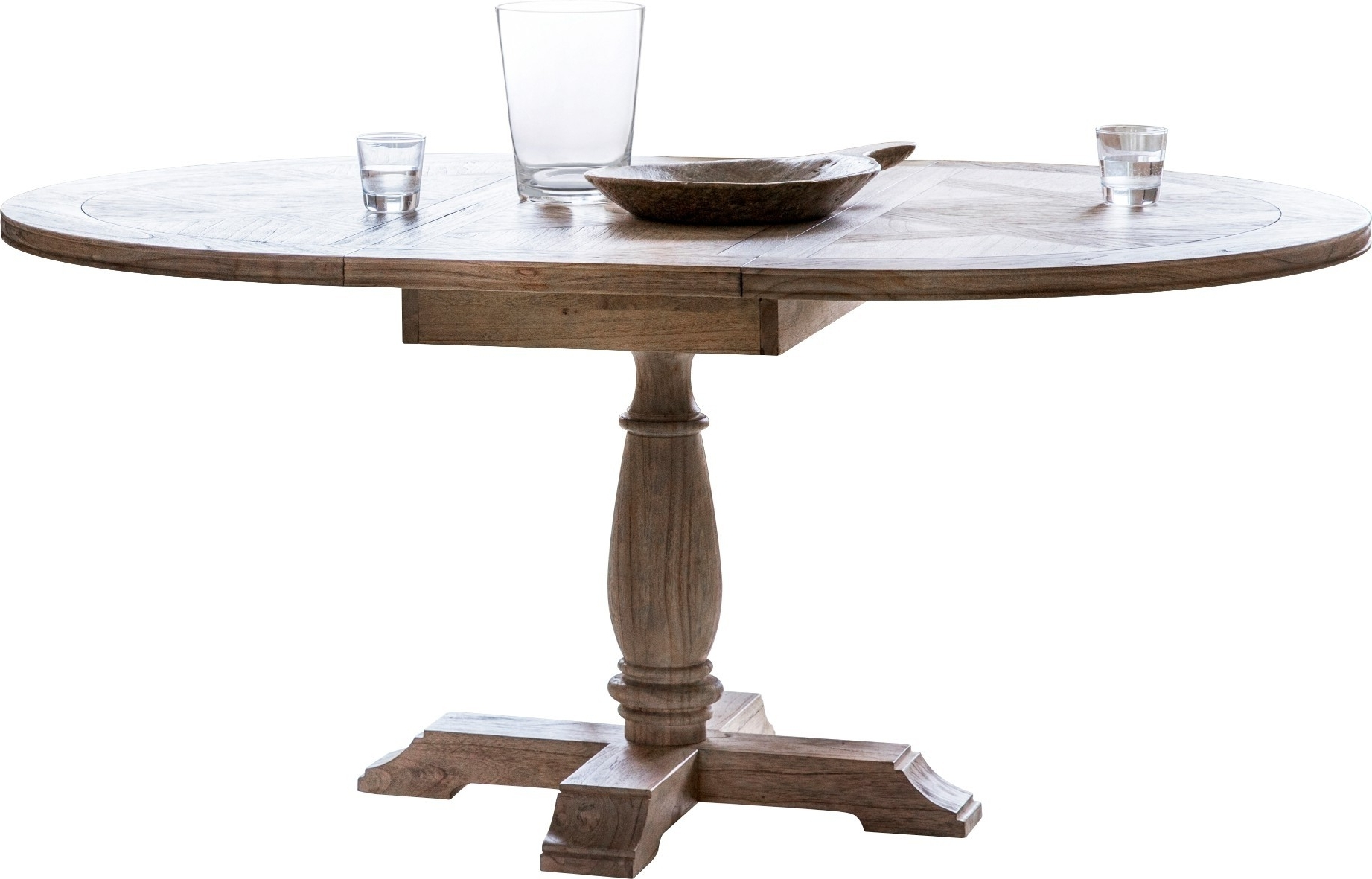 Cotswold Dining Tables Pertaining To Popular Pavilion Chic Extending Dining Table Cotswold Round (View 9 of 25)