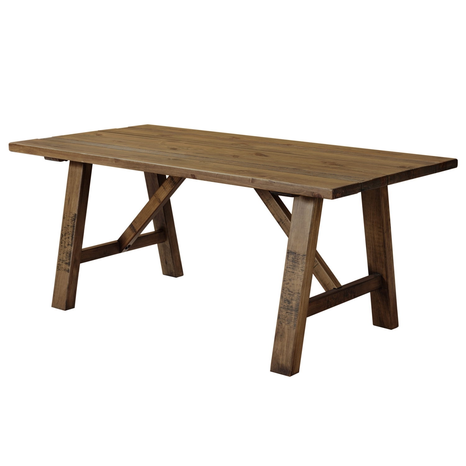 Cotswold Rustic Trestle Dining Table With Regard To Most Recent Cotswold Dining Tables (View 8 of 25)