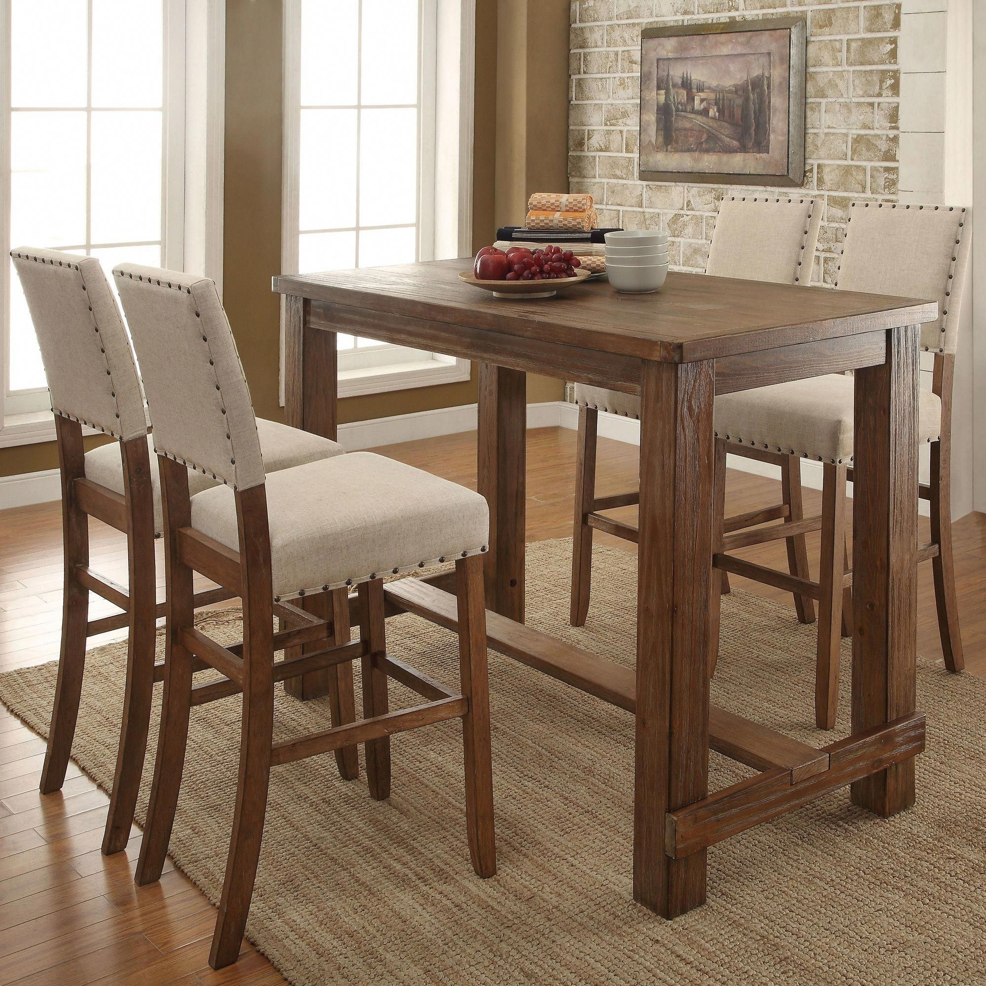 Counter Height Table With Kirsten 5 Piece Dining Sets (View 2 of 25)