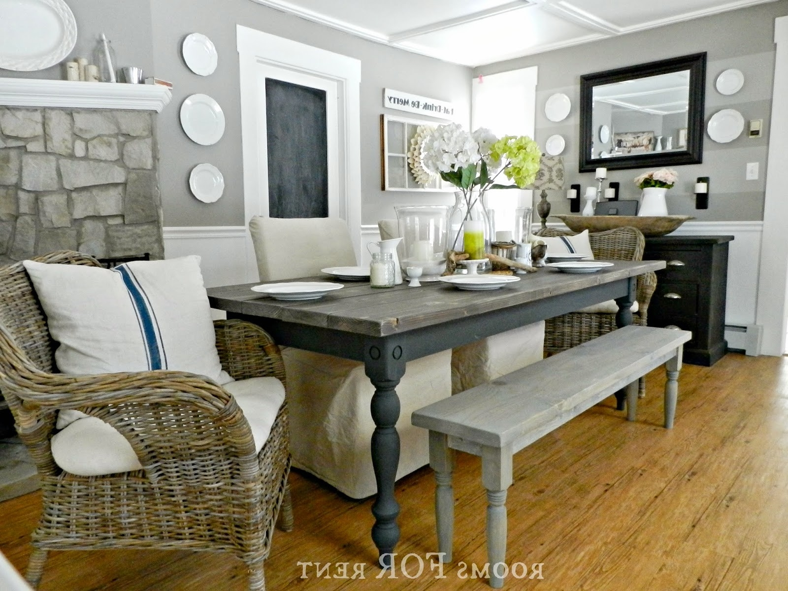 Country Dining Rooms Valid Impressive Farm Dining Tables 17 Pertaining To Well Liked Farm Dining Tables (View 13 of 25)
