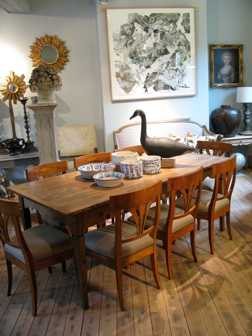 Country Dining Tables With Regard To 2017 19Th Cent French Country Dining Table In Pine And Oak – Dining Tables (View 4 of 25)