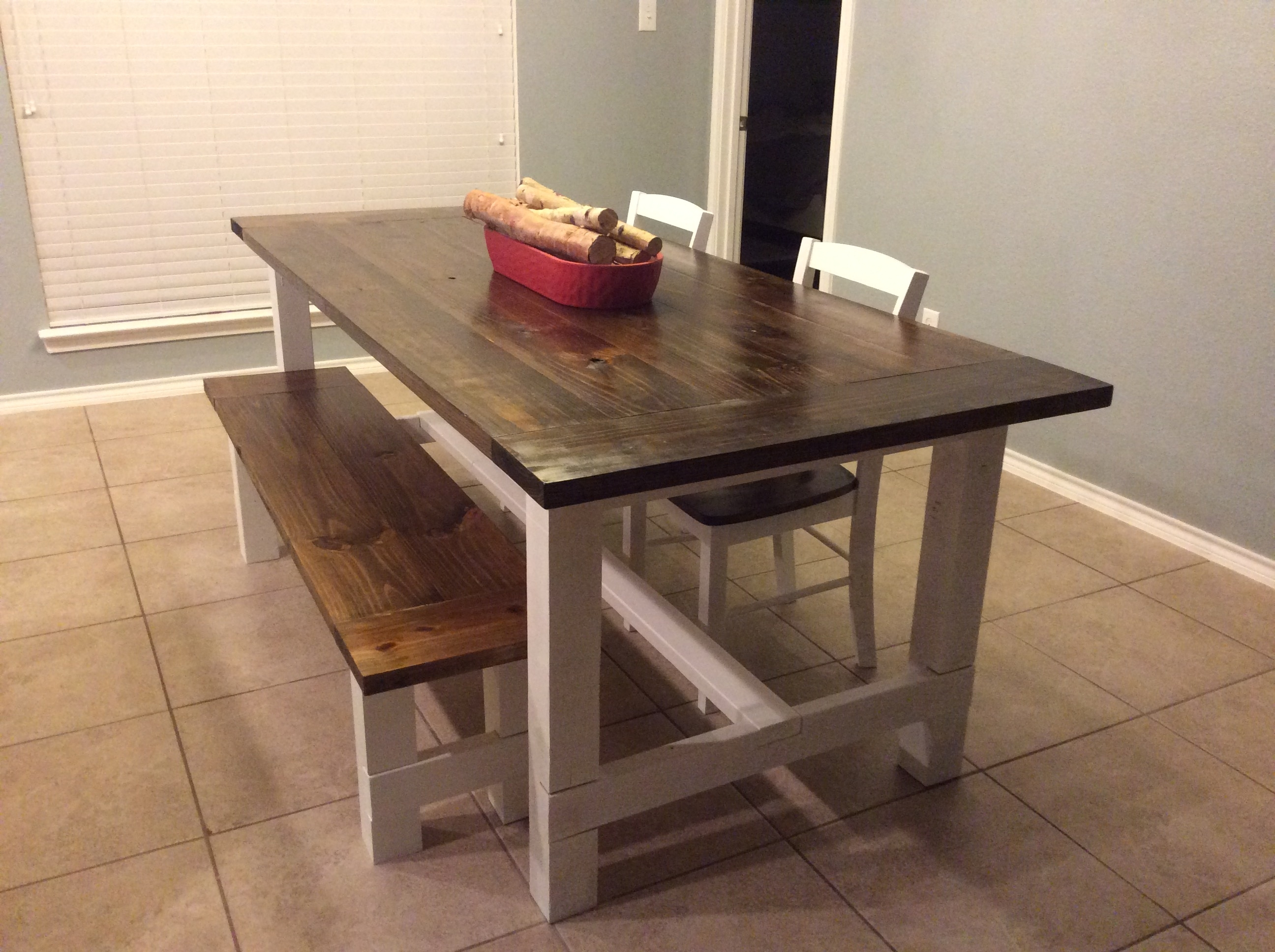 Country Dining Tables Within Well Known Diy Country Style Dining Table – Album On Imgur (View 6 of 25)