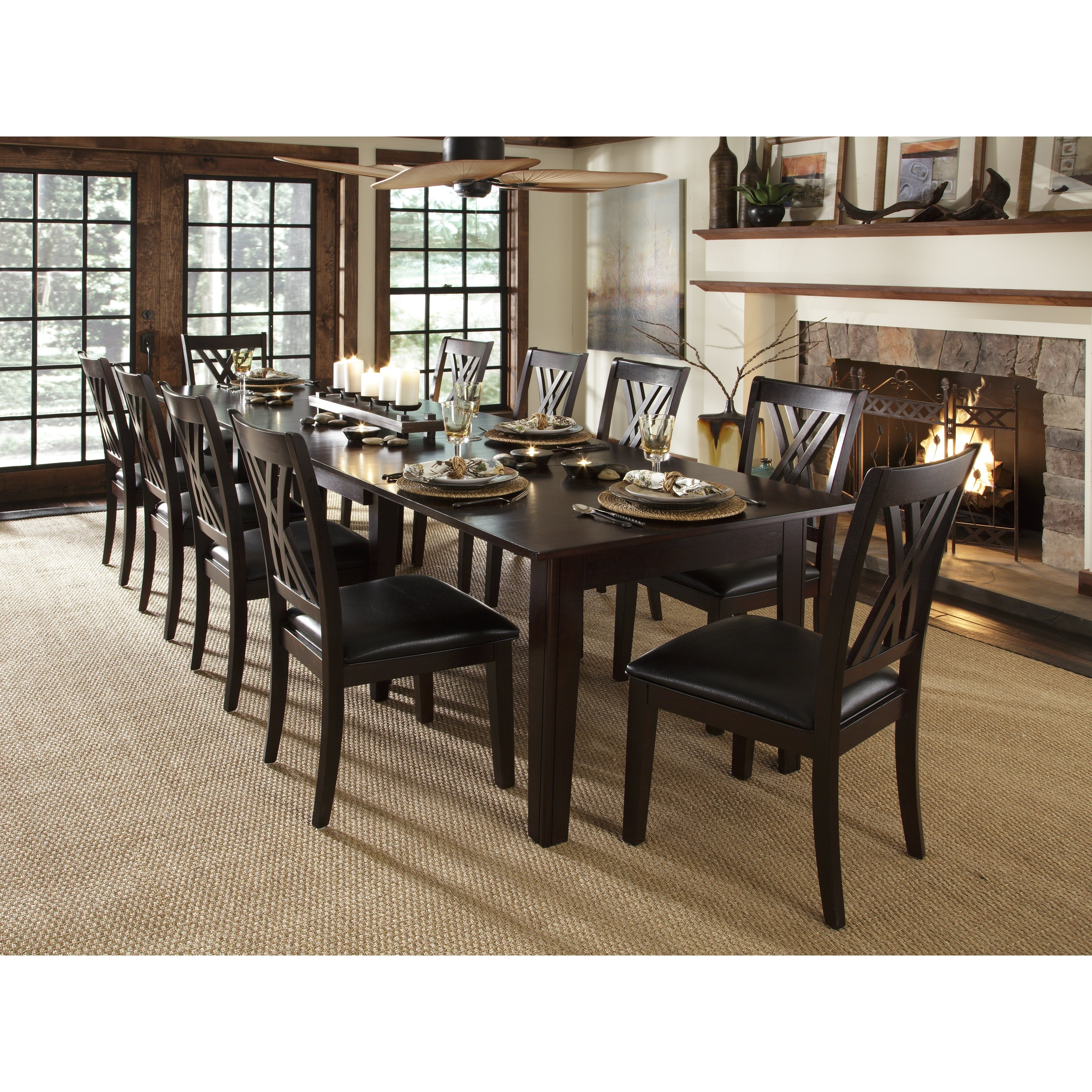 Craftsman Rectangle Extension Dining Tables With Best And Newest A America Montreal Rectangular Extension Dining Table – Espresso (View 20 of 25)