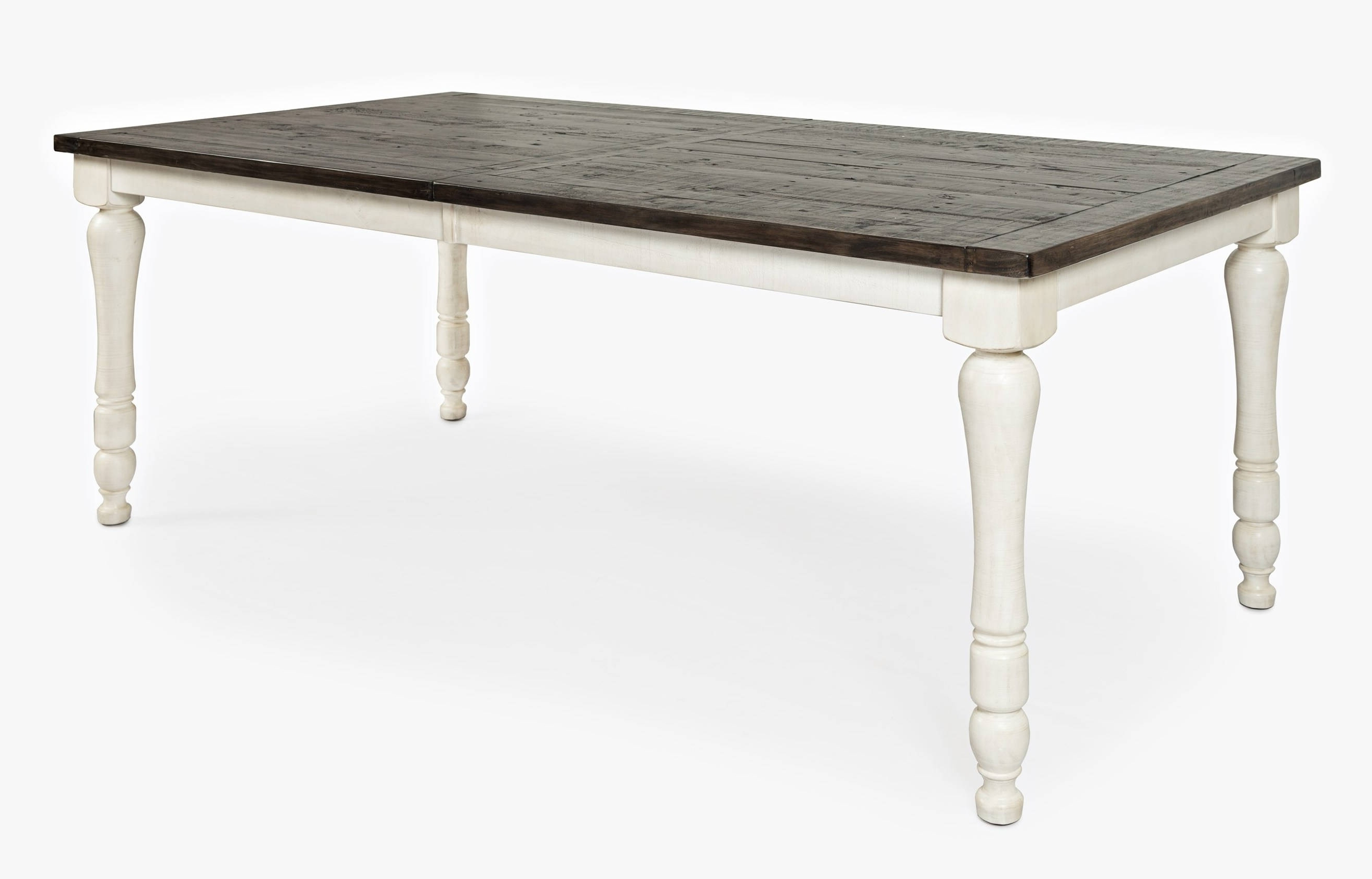 Craftsman Rectangle Extension Dining Tables Within Best And Newest Jofran Furniture Madison County Vintage White Rectangle Extension (View 23 of 25)