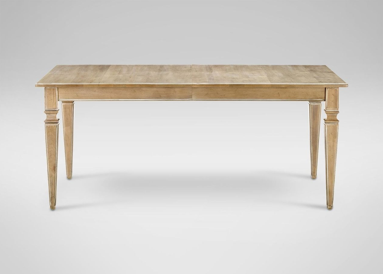Craftsman Rectangle Extension Dining Tables Within Most Popular Avery Extension Dining Table – Ethan Allen (View 3 of 25)