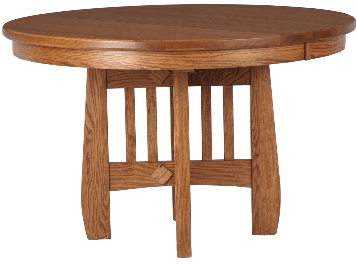 Craftsman Round Dining Tables For Well Liked Sonora Round Table (View 3 of 25)