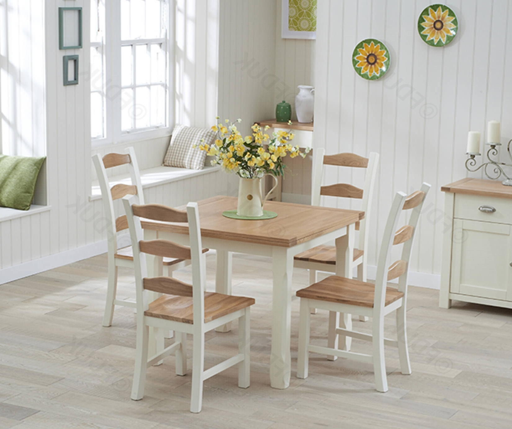 Cream And Oak Dining Tables Regarding Most Up To Date Mark Harris Sandringham (View 9 of 25)