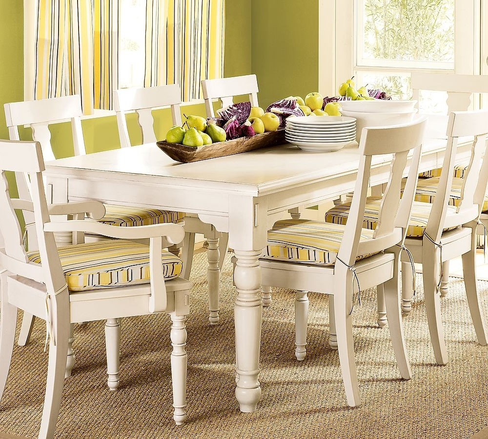 Cream Dining Tables And Chairs For Latest Cream Dining Room Table – Domainmichael (View 4 of 25)