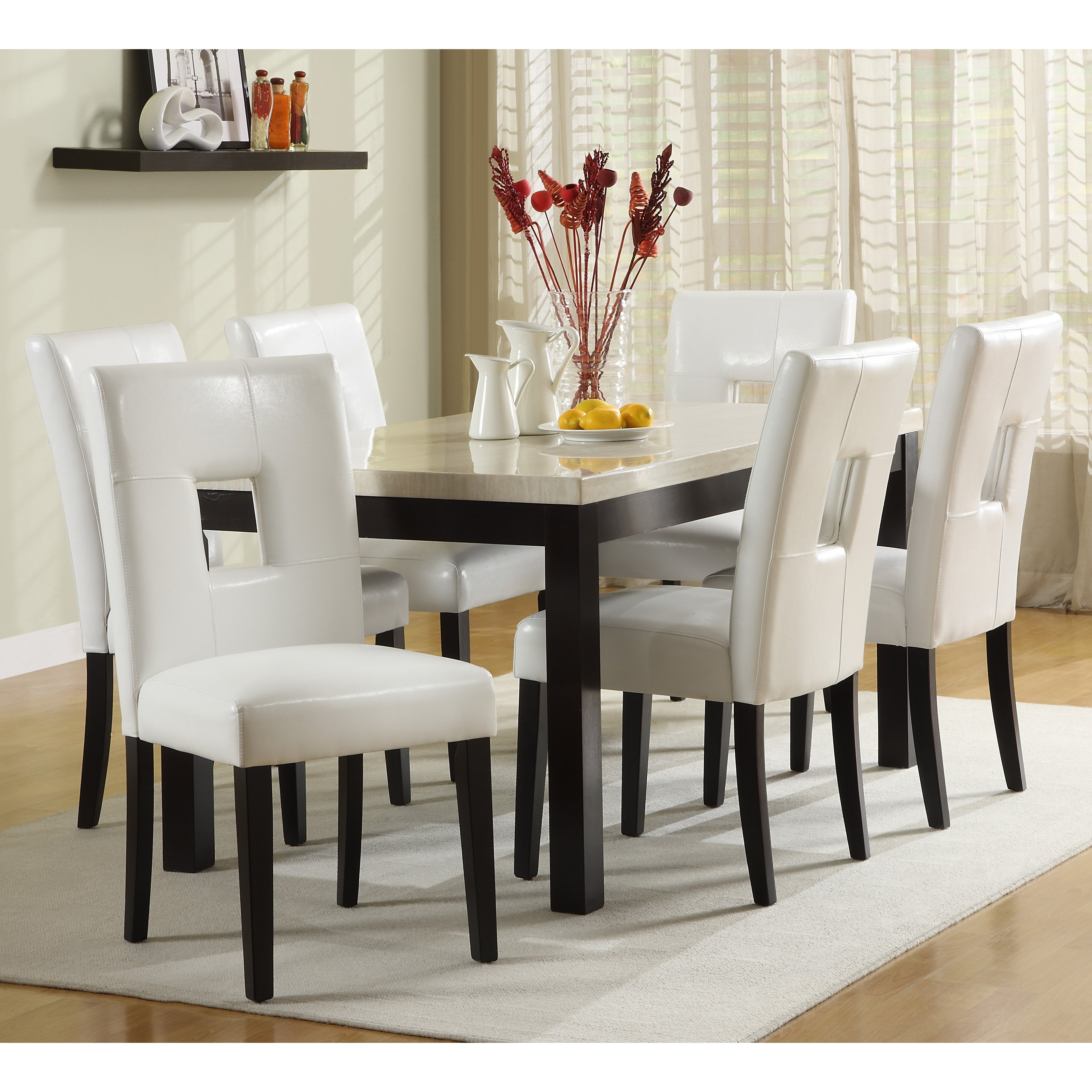 Cream Lacquer Dining Tables Pertaining To 2017 Elegant Interesting Dining Room Chairs For Dining Room (View 6 of 25)