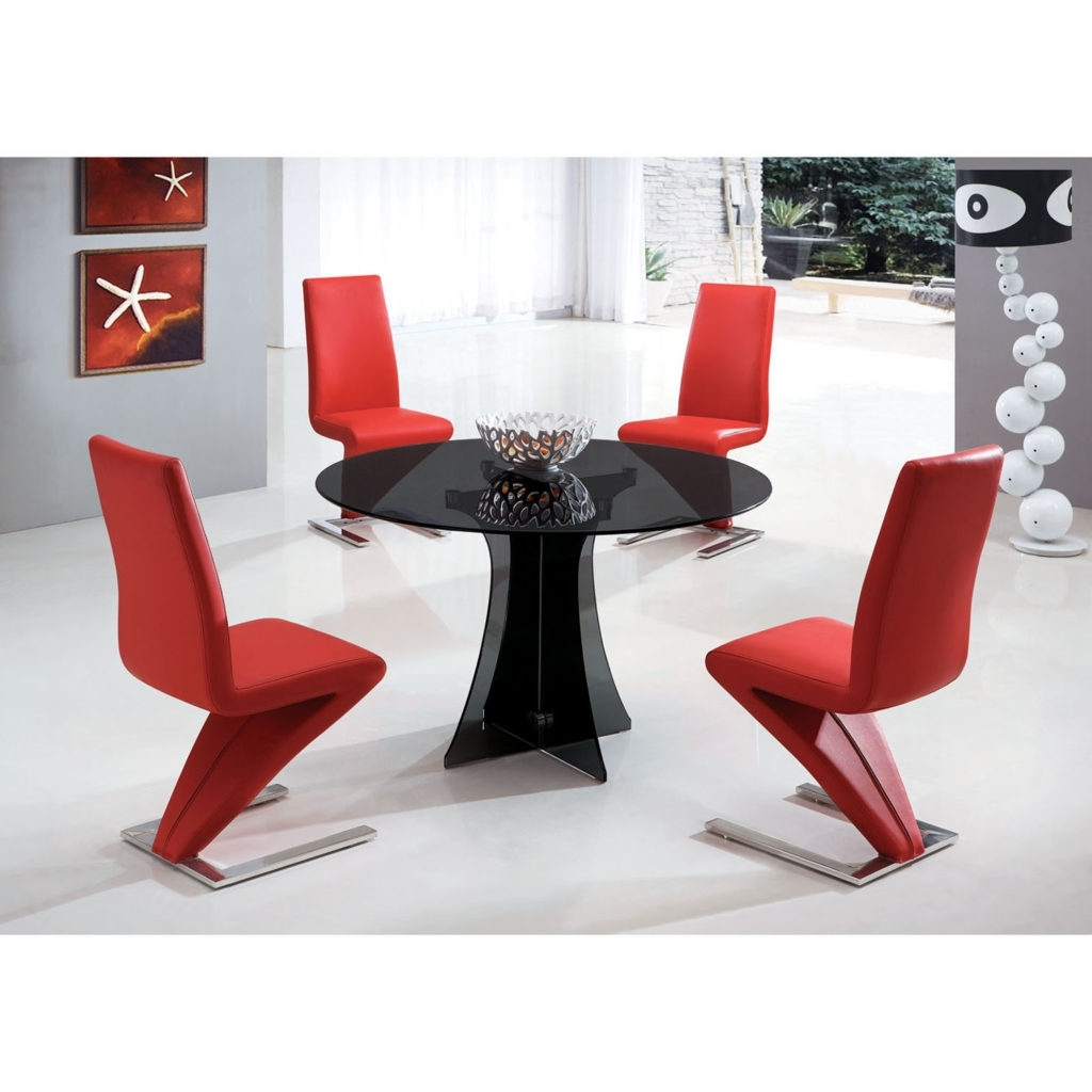 Creative Home Design Ideas Pertaining To Most Popular Red Dining Table Sets (View 3 of 25)