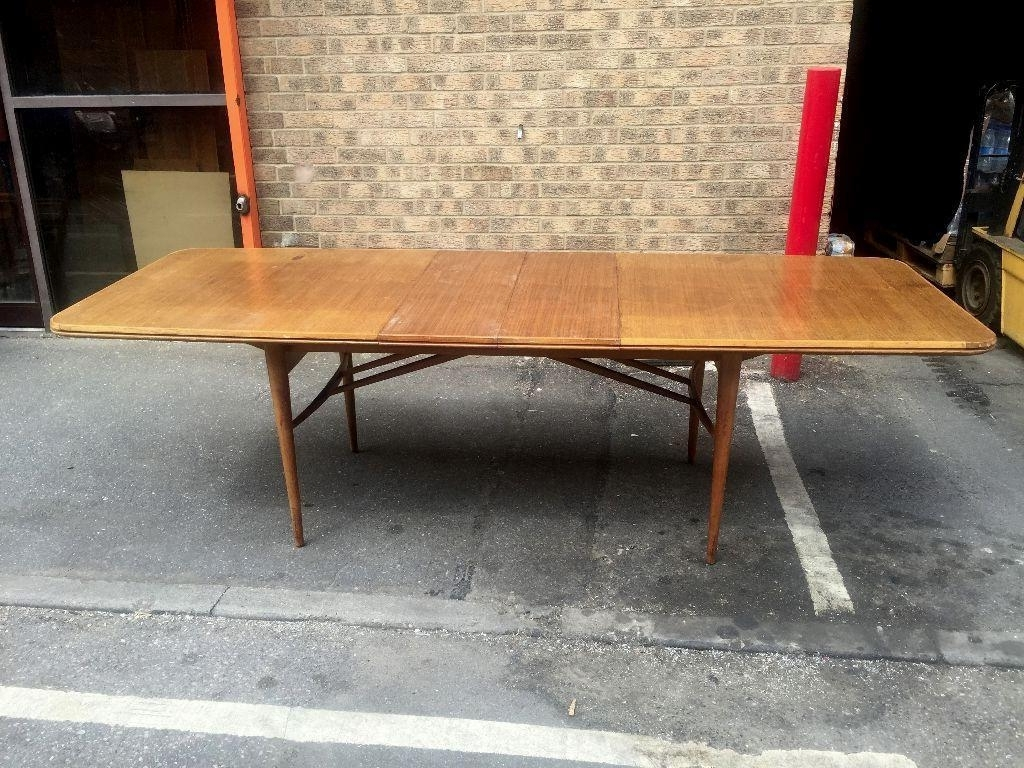 Current 60S Superb Robert Heritage Archie Shine Hamilton Wishbone Extending With Regard To Hamilton Dining Tables (View 20 of 25)
