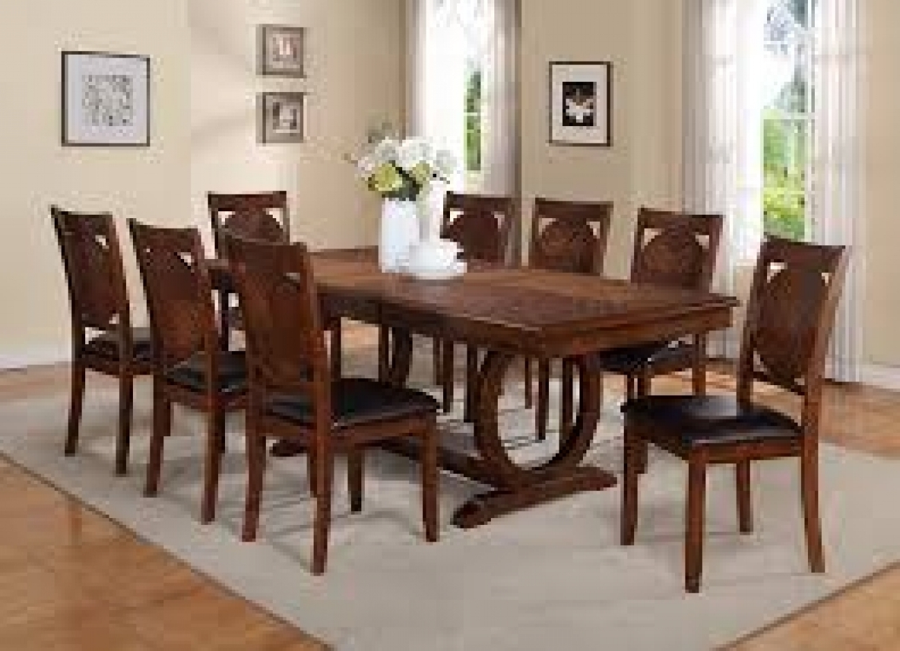 Current 8 Seater Dining Table Sets Within Royal Laxmi Furnitures (View 11 of 25)