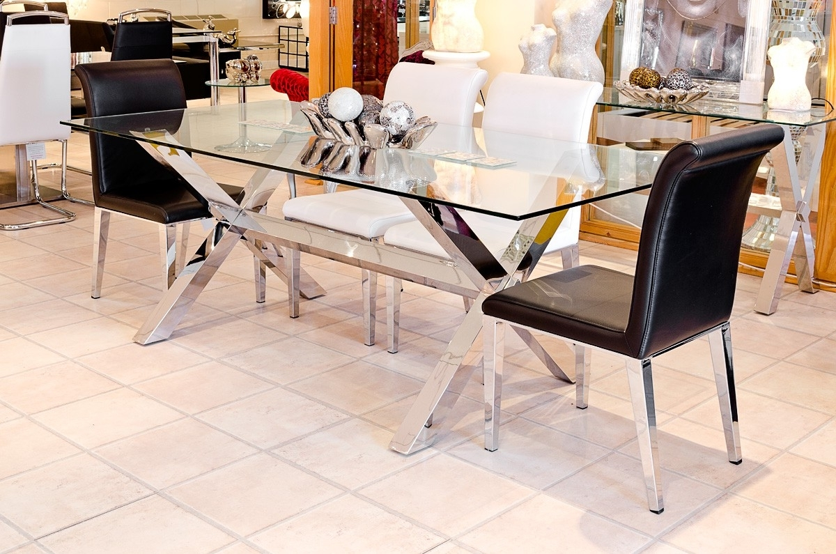 Current 8 Seater Dining Tables Regarding Crossly Rectangular 8 Seater Dining Table – Be Fabulous! (View 22 of 25)