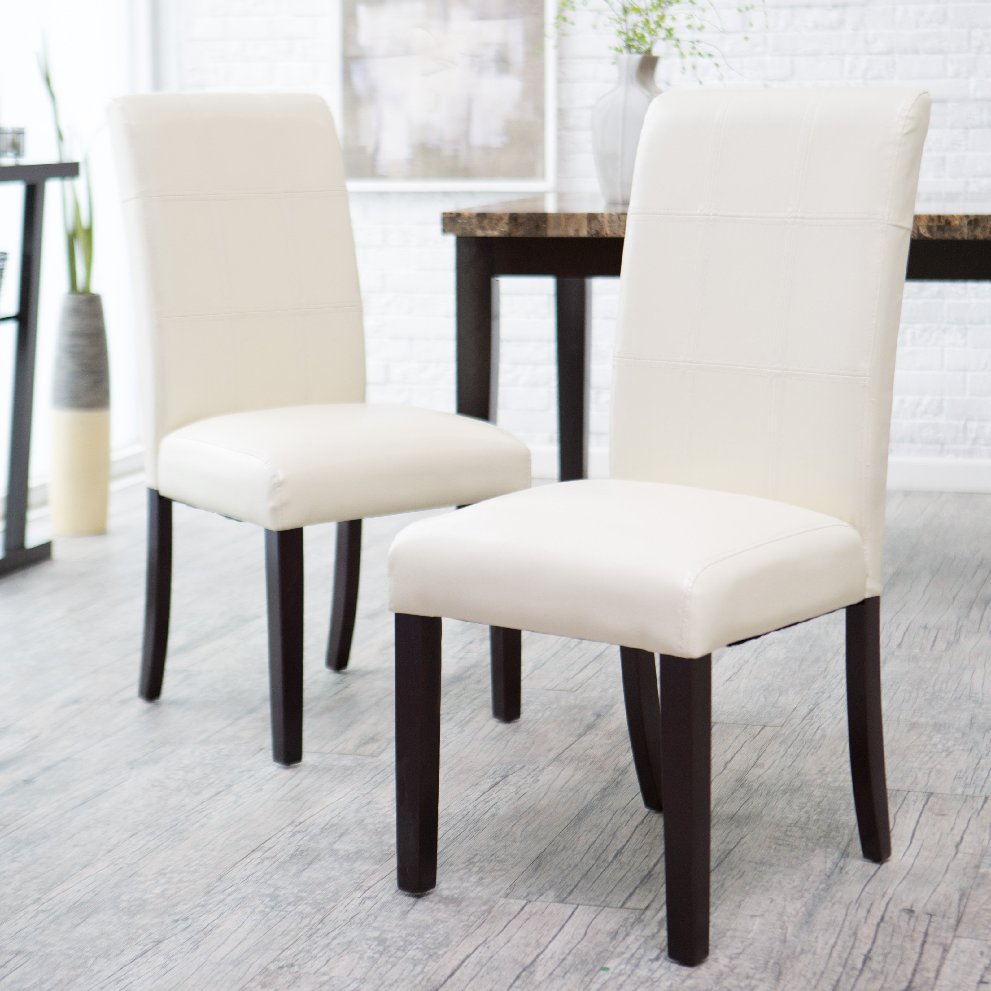 Current Avorio Ivory Dining Chair – Set Of  (View 2 of 25)