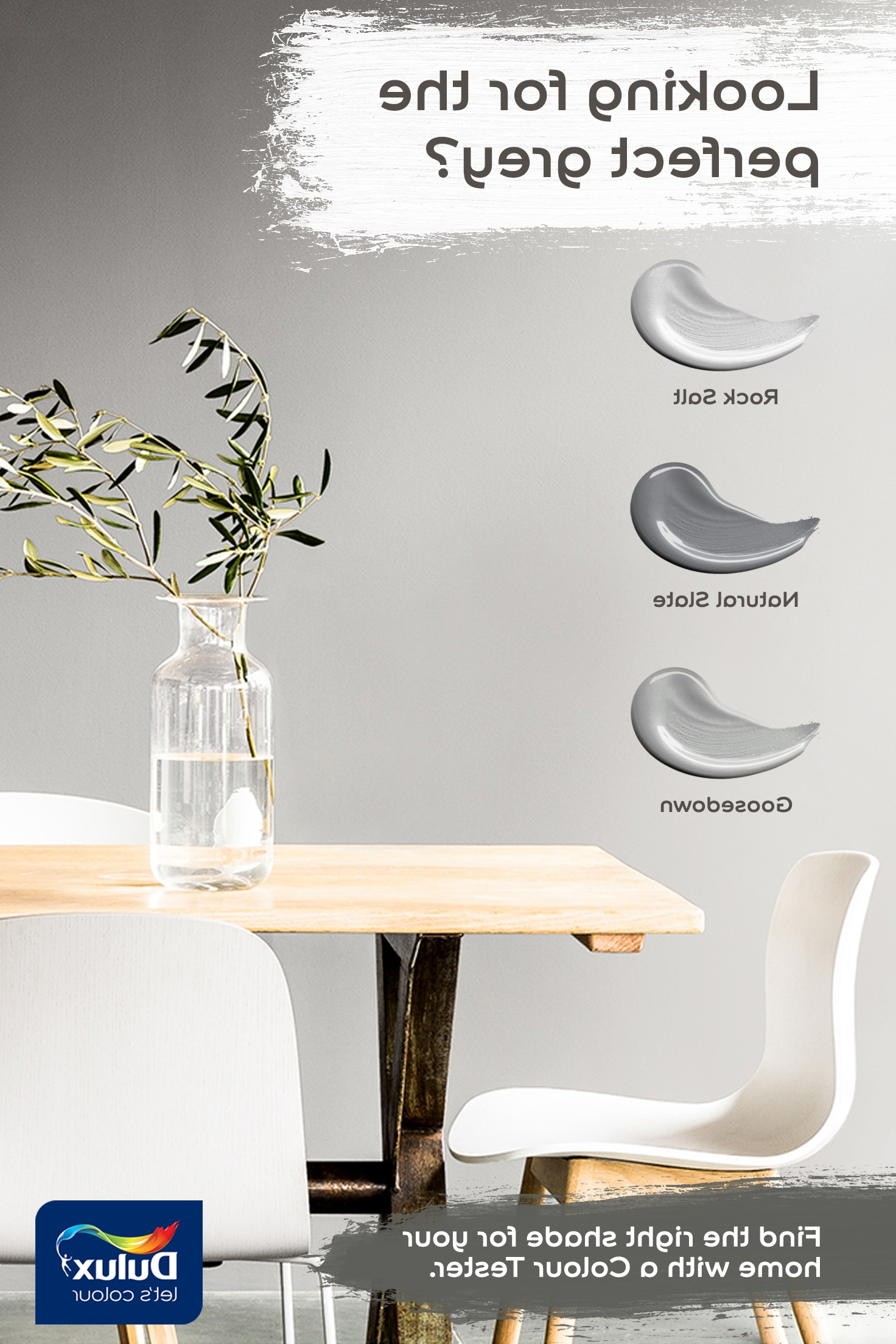Current Bale Rustic Grey 7 Piece Dining Sets With Pearson White Side Chairs Pertaining To Find Your Grey Shade With A Colour Tester. Only £1.56 (Free P&p (Gallery 18 of 25)