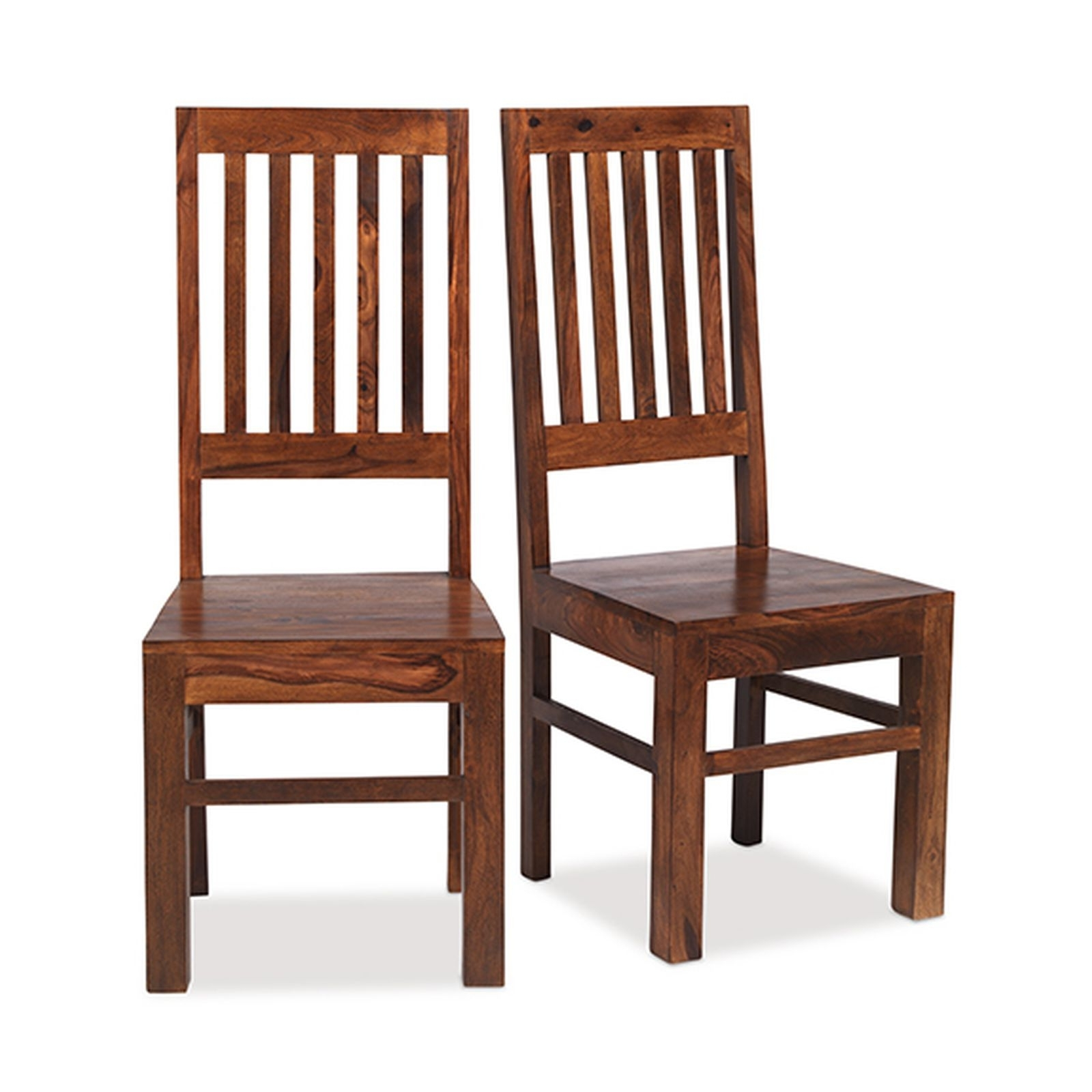 Current Bengal Indian Sheesham Furniture High Back Slatted Dining Chair With Regard To Indian Dining Chairs (View 16 of 25)
