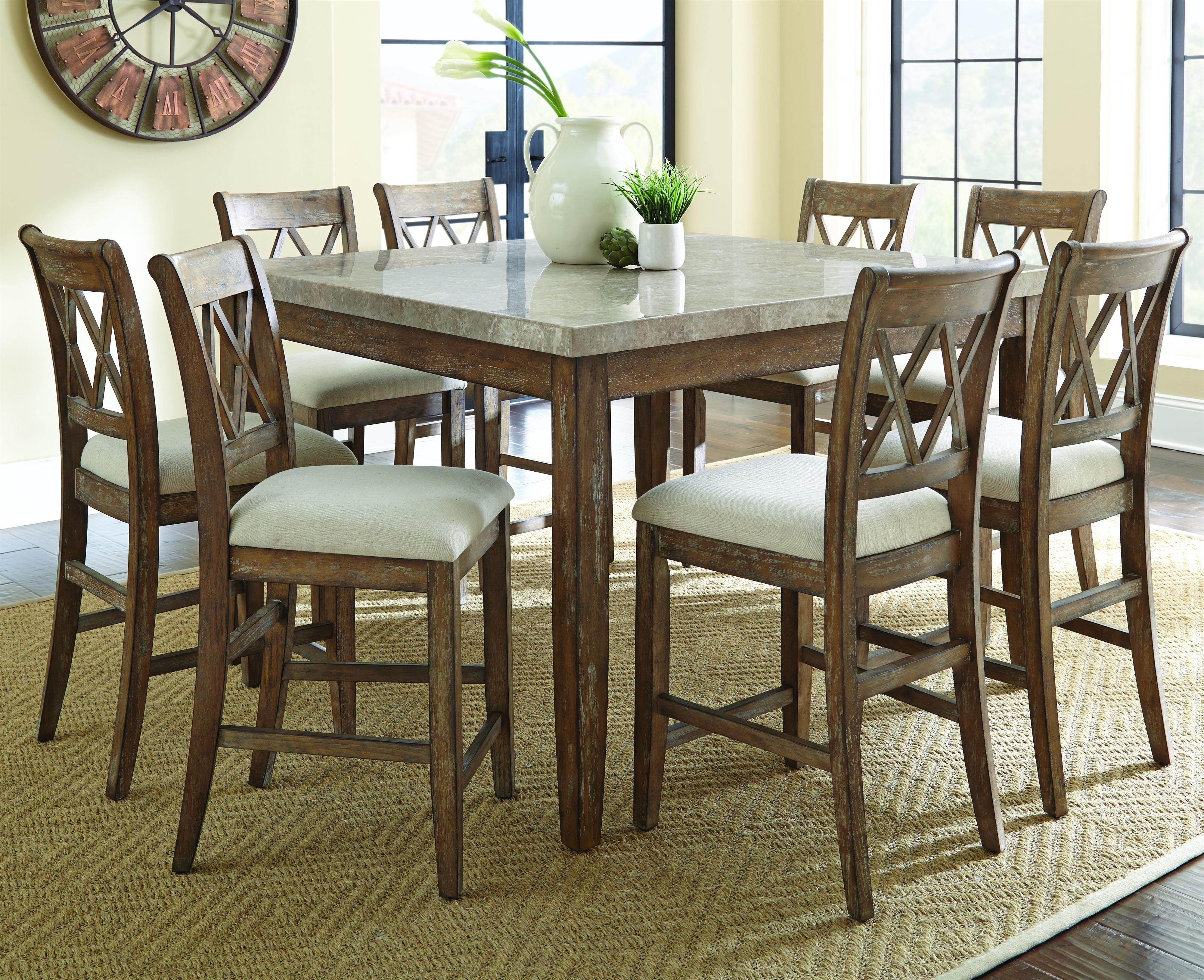 Current Chapleau Ii 9 Piece Extension Dining Table Sets For Cheery Caira Piece Extension Set Back Chairs Caira Piece Extension (View 11 of 25)