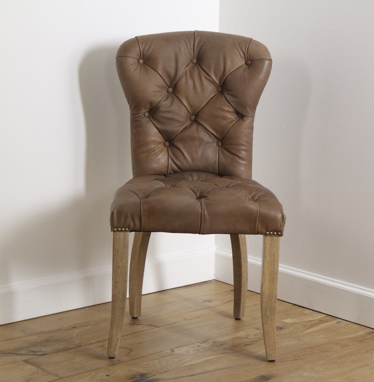 Current Chester Dining Chairs Throughout Chester Dining Chair, D  Raw, Weathered Oak – The Main Company (View 11 of 25)