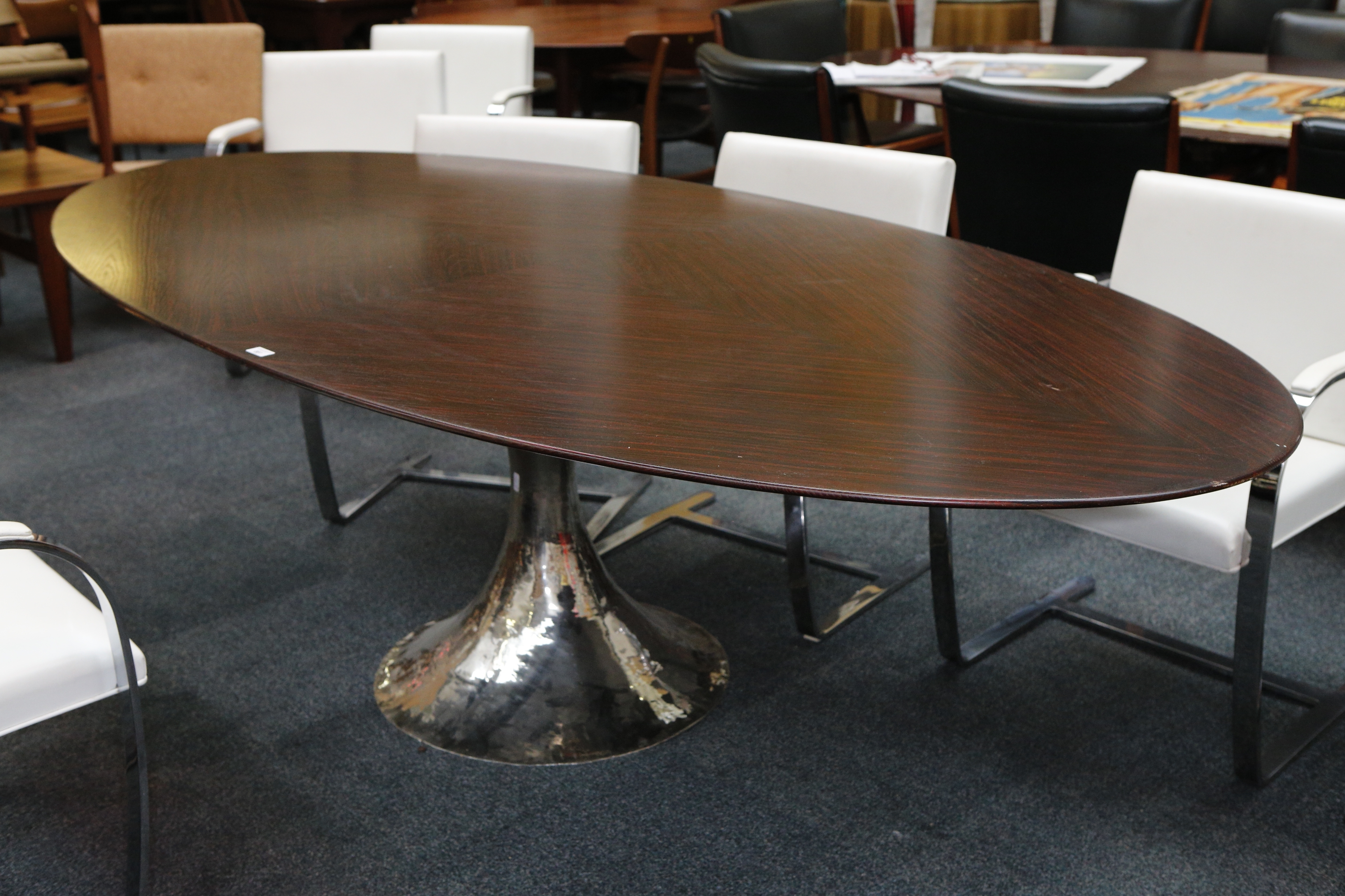 Current Chichester Dining Tables In A Julian Chichester Dakota Dining Table, 21St Century, Elliptical (View 15 of 25)