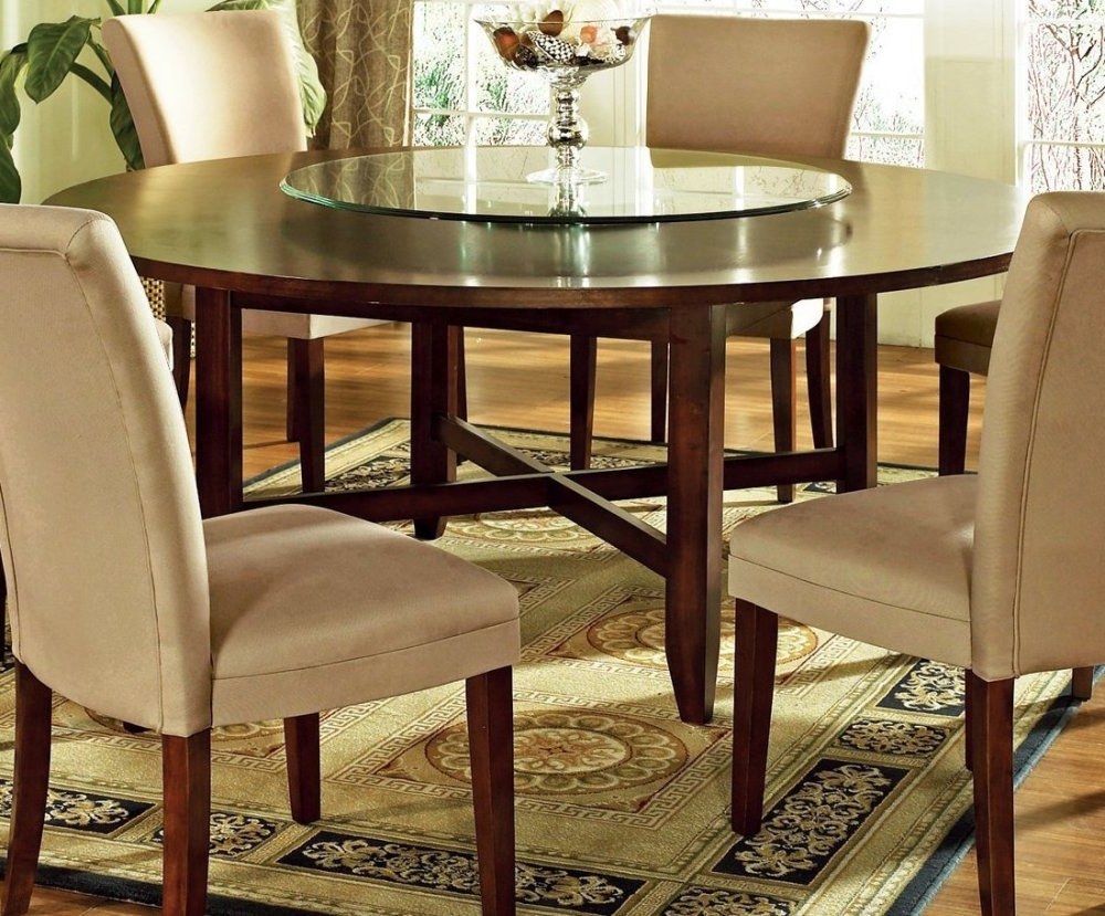 Current Circular Dining Room Decor Ideas — Bluehawkboosters Home Design Intended For Circular Dining Tables (View 11 of 25)