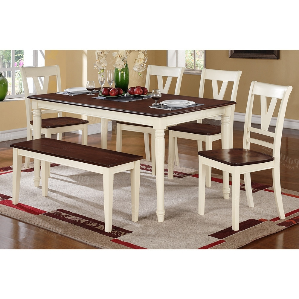 Current Cream And Wood Dining Tables Intended For Contemporary Cream Cherry Wood Dining Table (View 12 of 25)