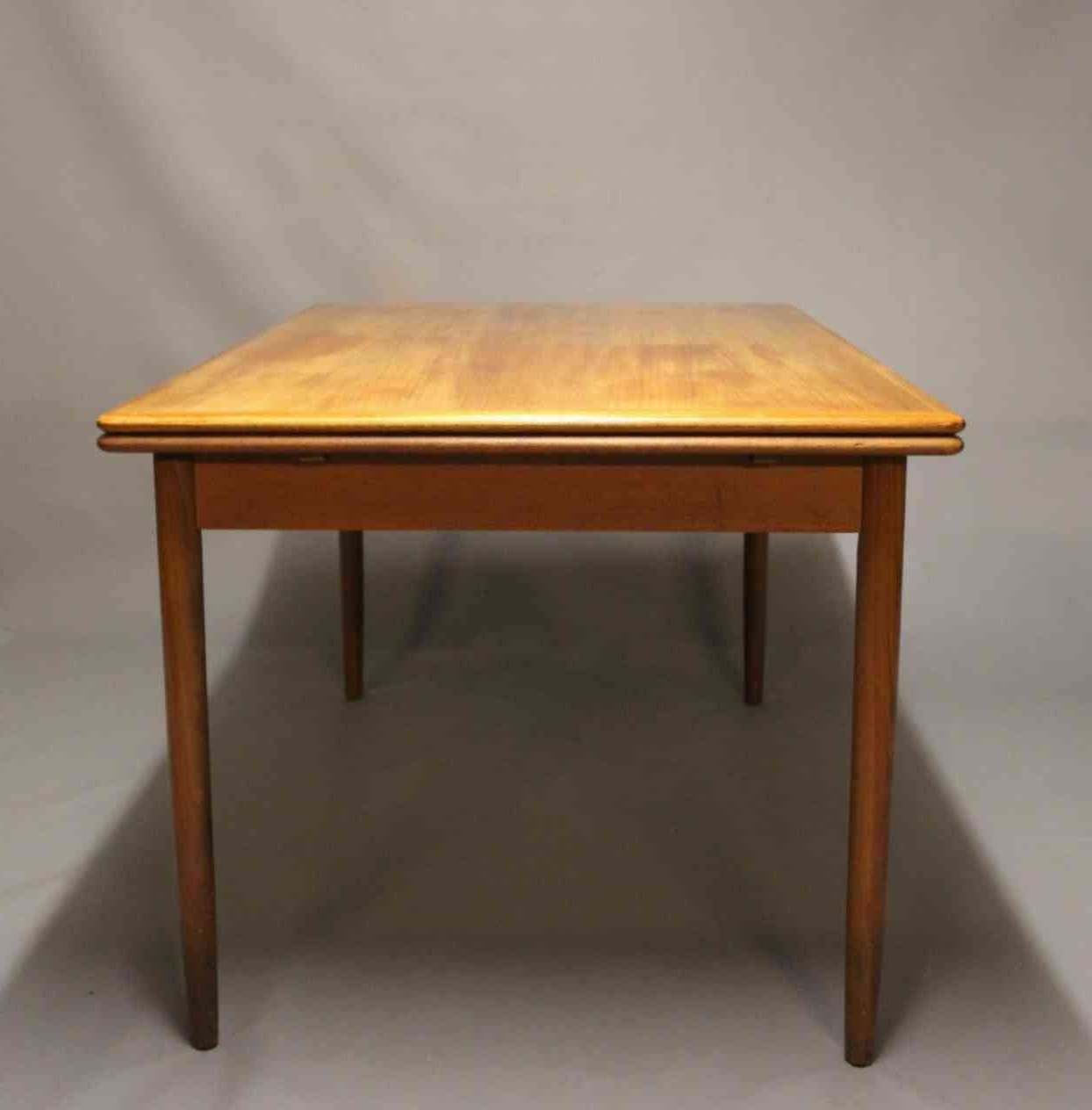 Current Danish Design, Dining Table, Teak For Sale (View 2 of 25)