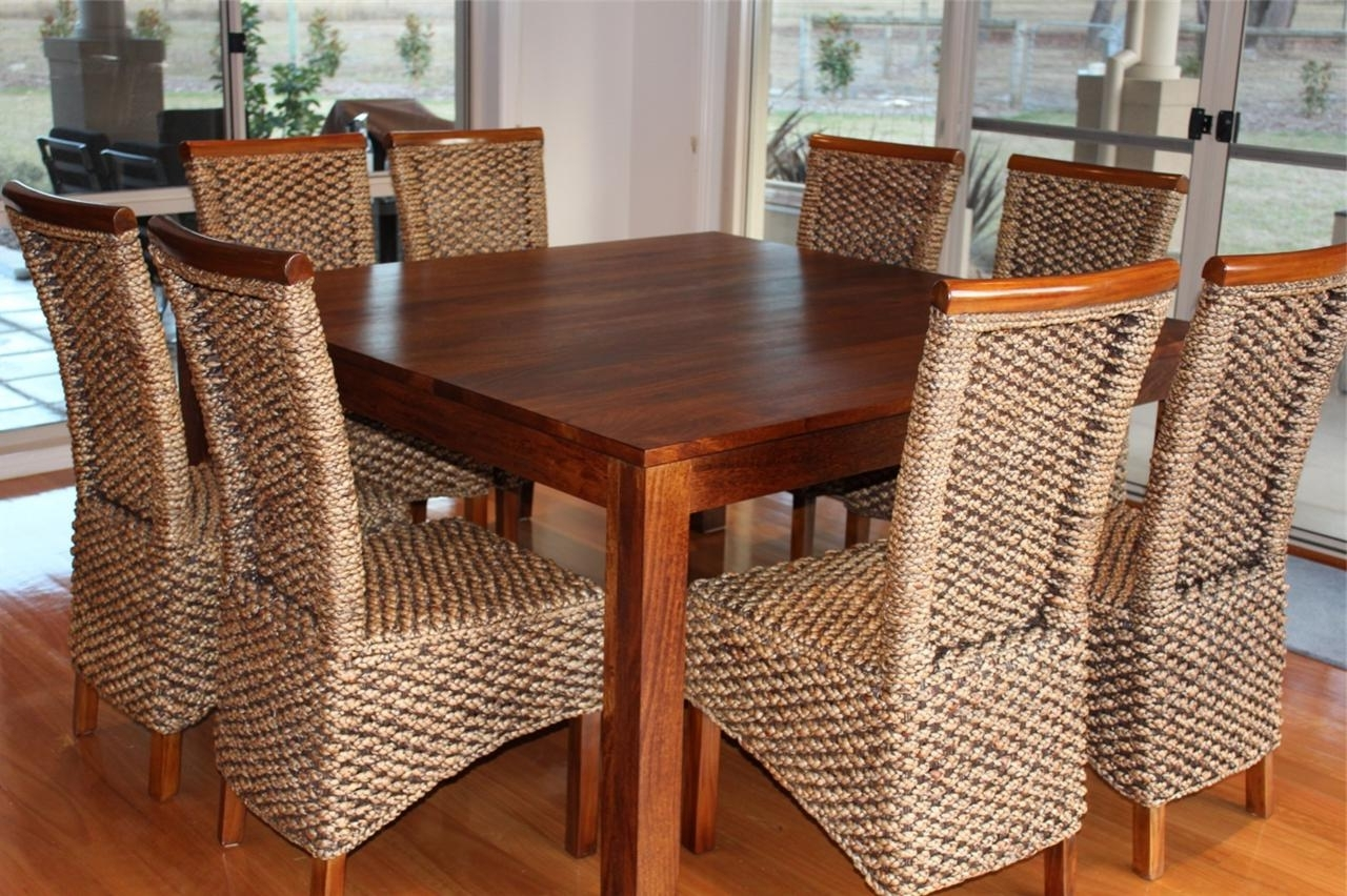 Current Dining Tables For Eight Regarding Dining Tables. Amusing Square Dining Table Seats 8: Square Dining (Gallery 2 of 25)