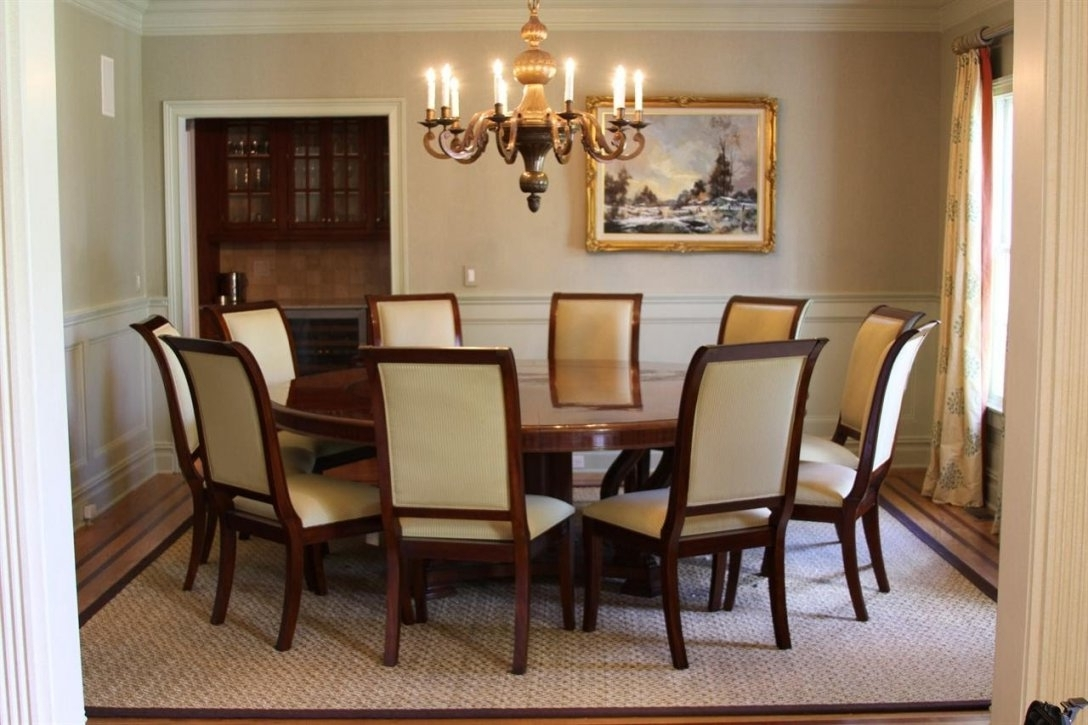 Current Dining Tables: Stunning Circle Dining Table Set 5 Piece Round Dining Intended For Circle Dining Tables (View 9 of 25)