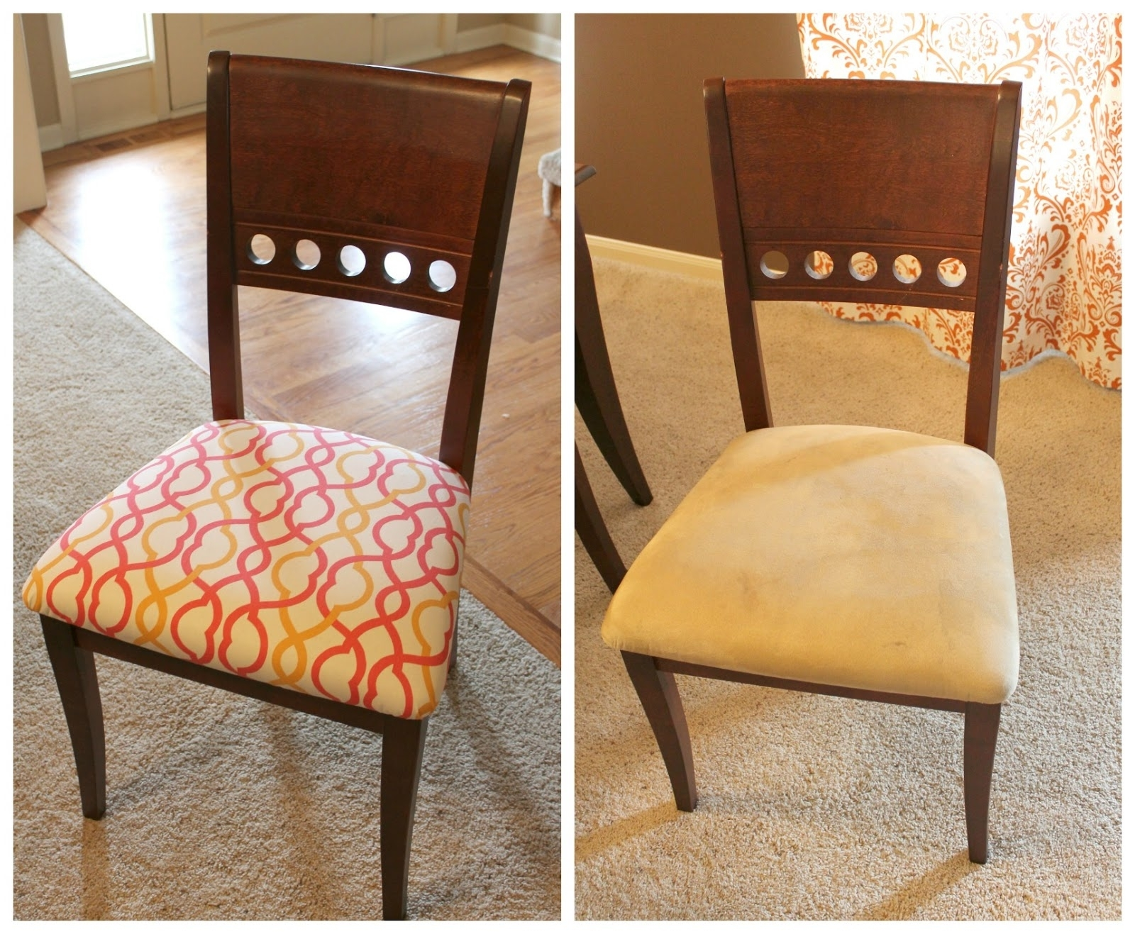 Current Fabric Dining Room Chairs Throughout Fabric To Cover Dining Room Chair Seats Patterned Dining Room Chairs (Gallery 11 of 25)