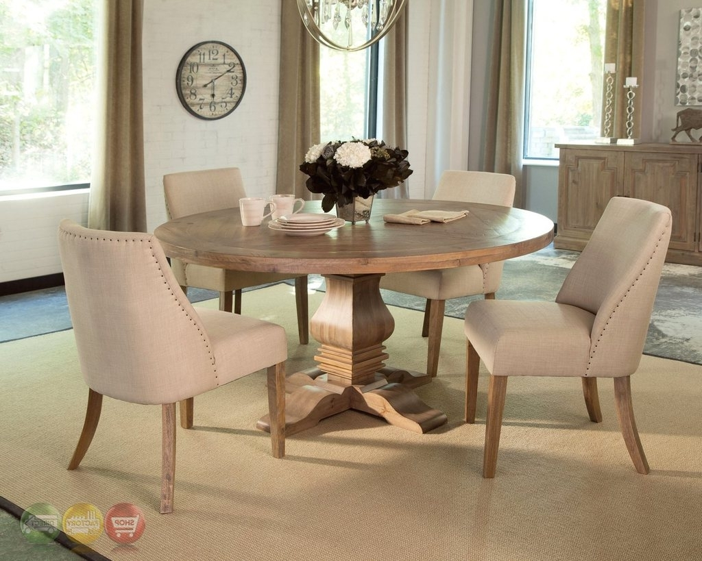Current Florence 5 Piece Dining Set Solid Mahogany Round Table & 4 Chairs Within Florence Dining Tables (Gallery 24 of 25)