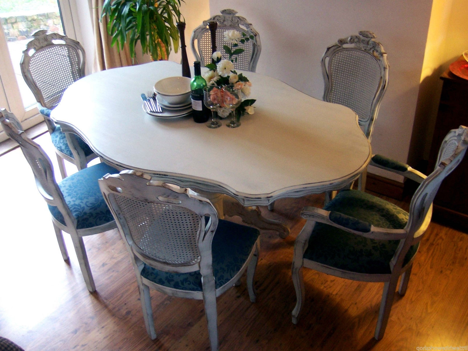 Current French Chic Dining Tables With Shabby Chic Dining – Restored To Be Adored (View 5 of 25)
