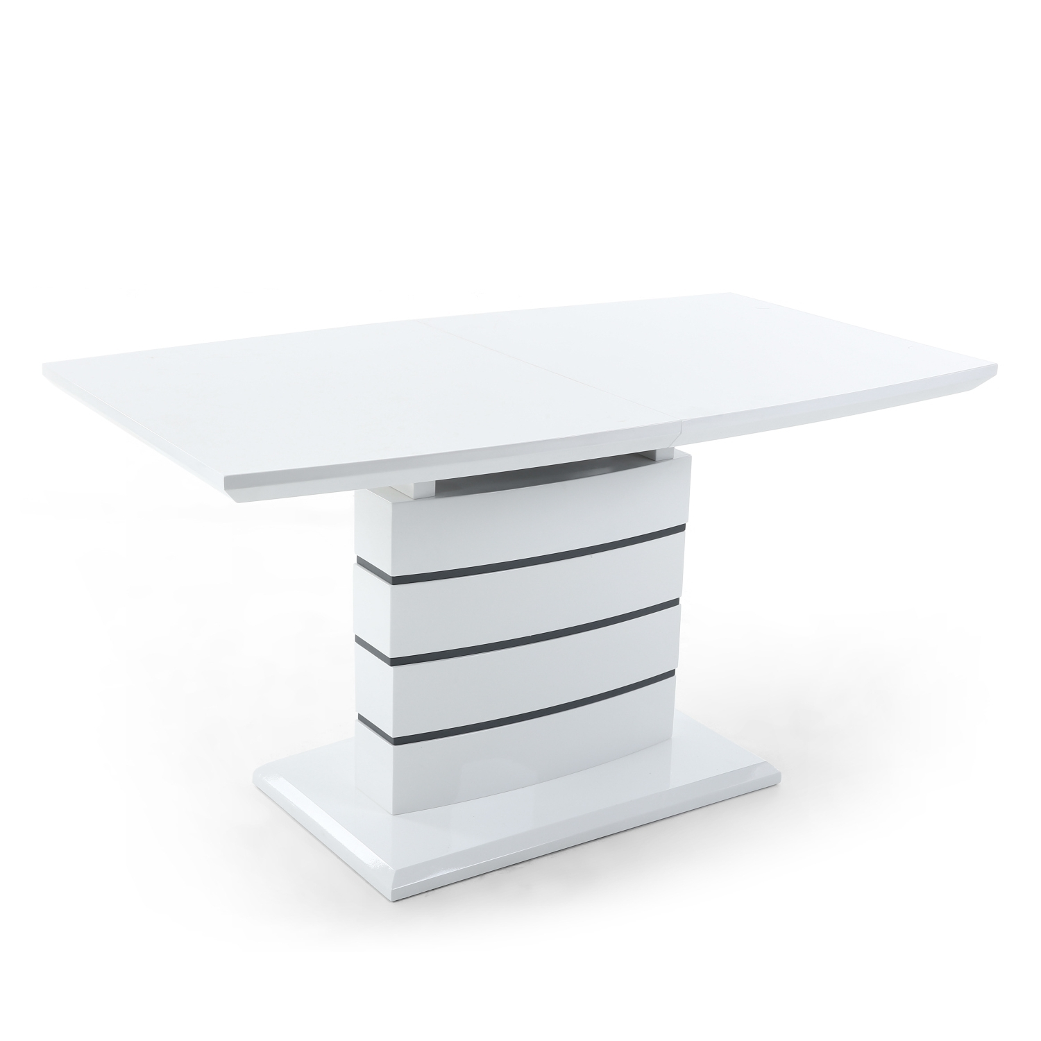 Current Home Genies – Google+ In White Gloss Dining Tables 140Cm (Gallery 16 of 25)