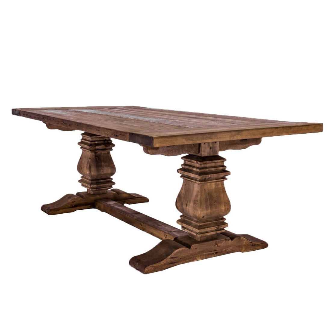 Current Kingswood Harvest Dining Table » Glamour & Woods With Regard To Amos 6 Piece Extension Dining Sets (View 6 of 25)