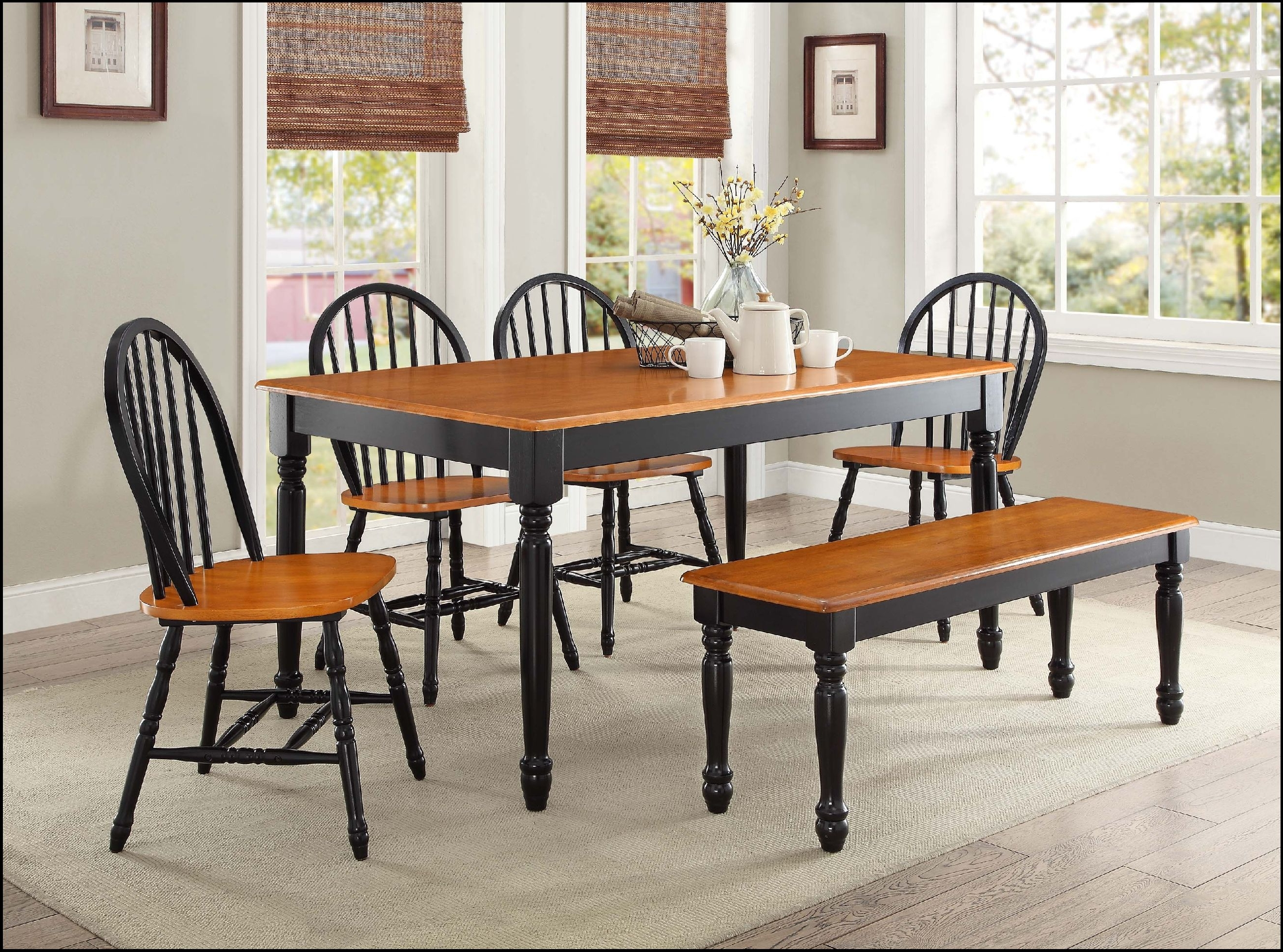 Current Kitchen Dining Sets With Dining Table Set 6 Seater Round And Chairs Six Kitchen 4 Stunning (View 7 of 25)