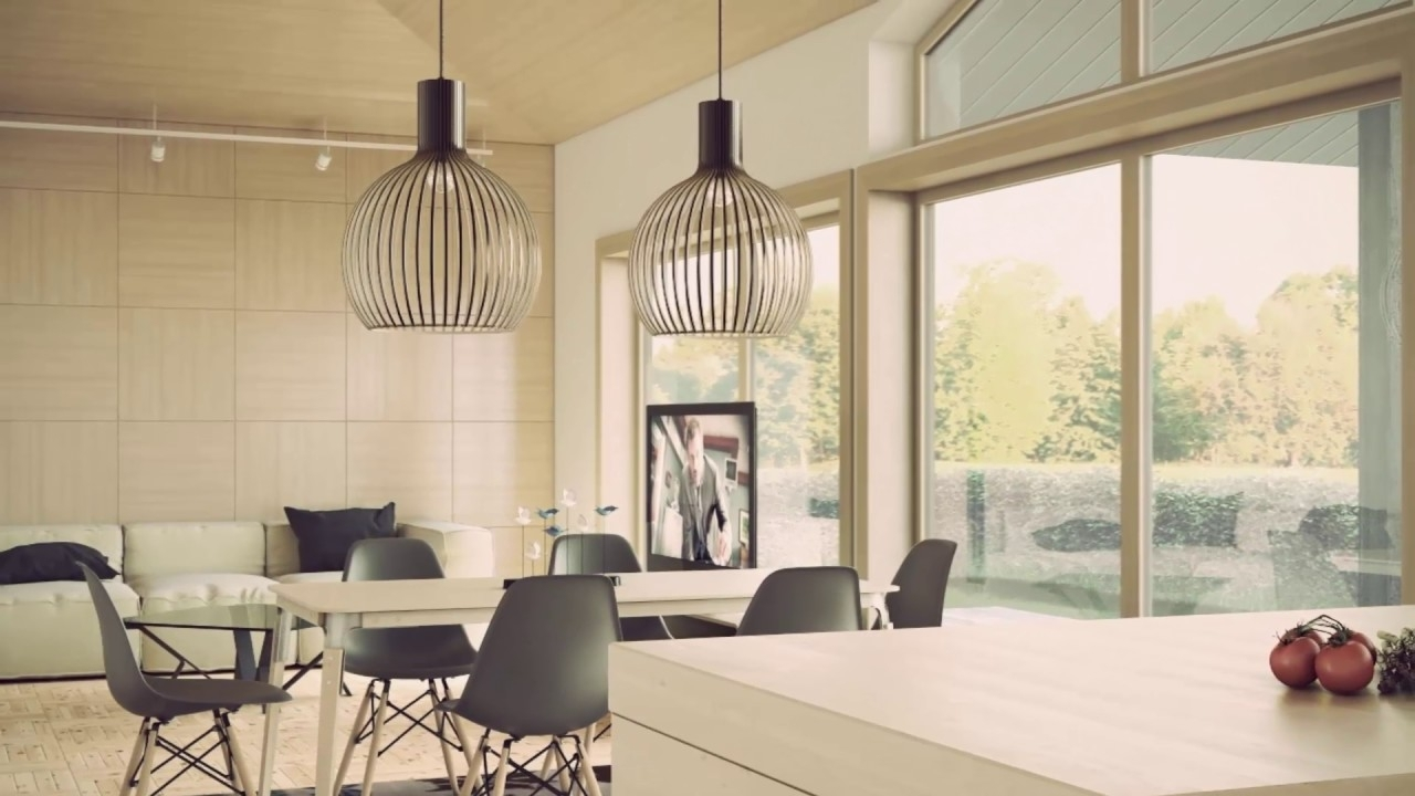 Current Lamp Over Dining Tables Throughout Hanging Lamp Over Dining Table – Youtube (Gallery 22 of 25)