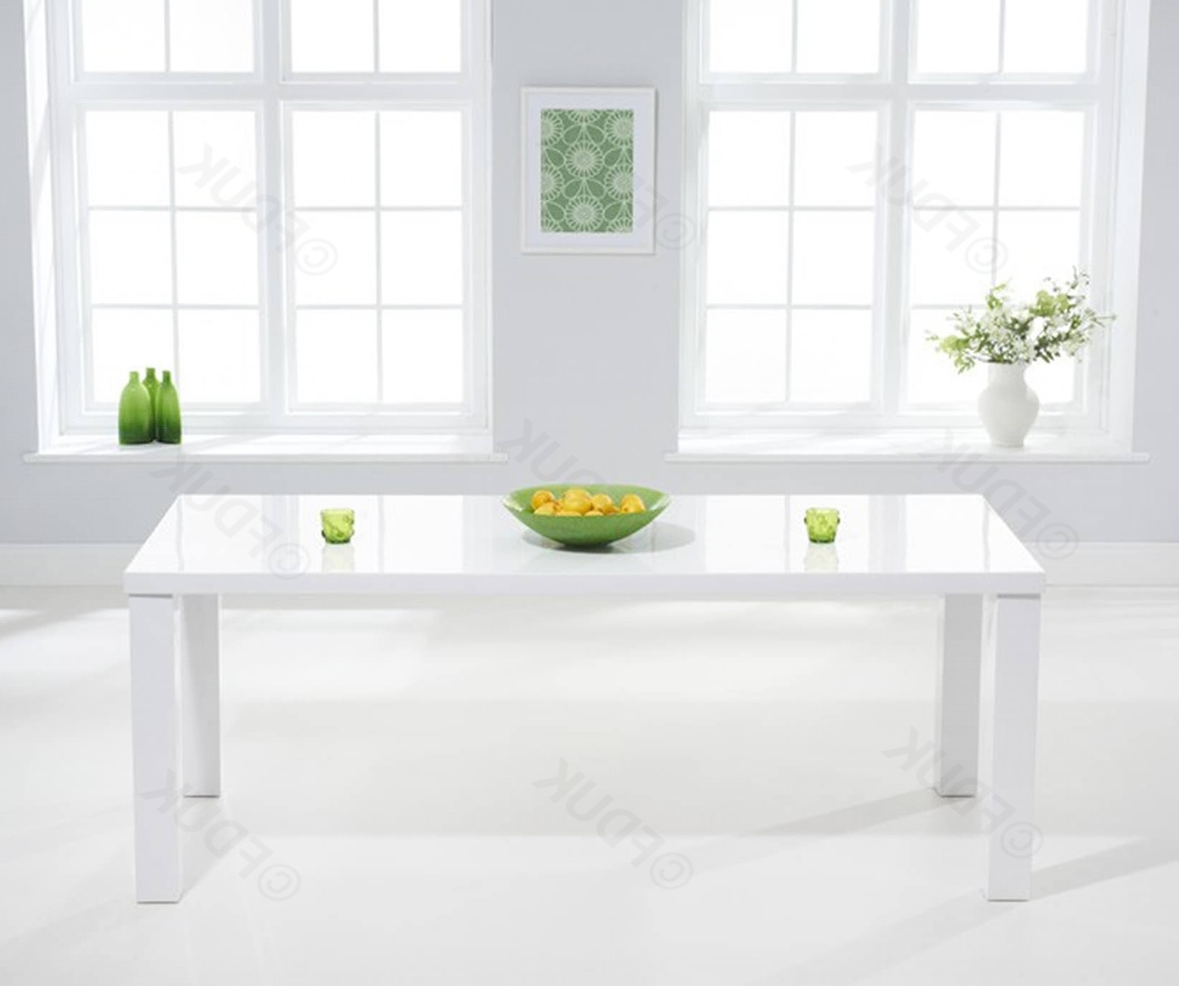 Current Large White Gloss Dining Tables For Mark Harris Ava (View 11 of 25)