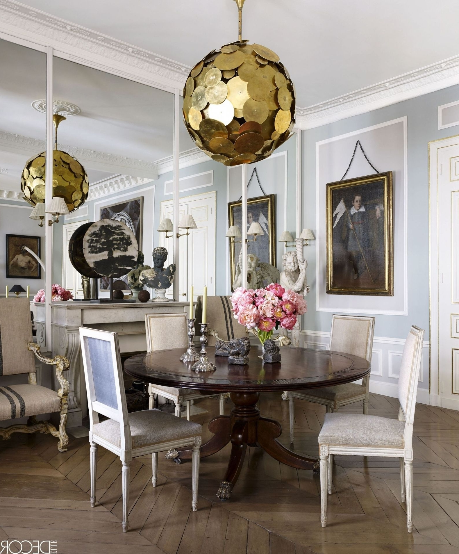 Current Lighting For Dining Tables With 26 Best Dining Room Light Fixtures – Chandelier & Pendant Lighting (View 9 of 25)