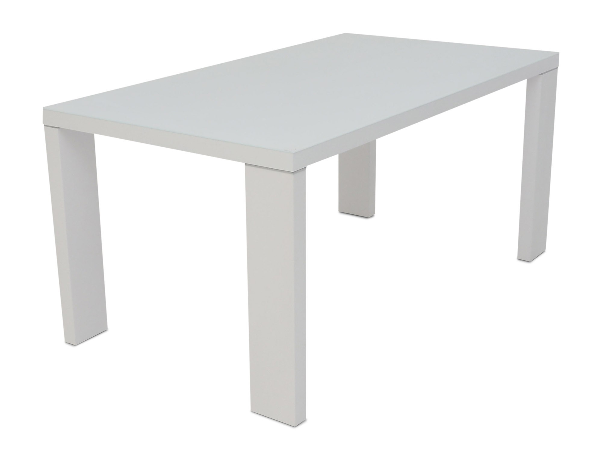 Current Lucille White Gloss With Glass Top Dining Table Regarding Cheap White High Gloss Dining Tables (View 15 of 25)