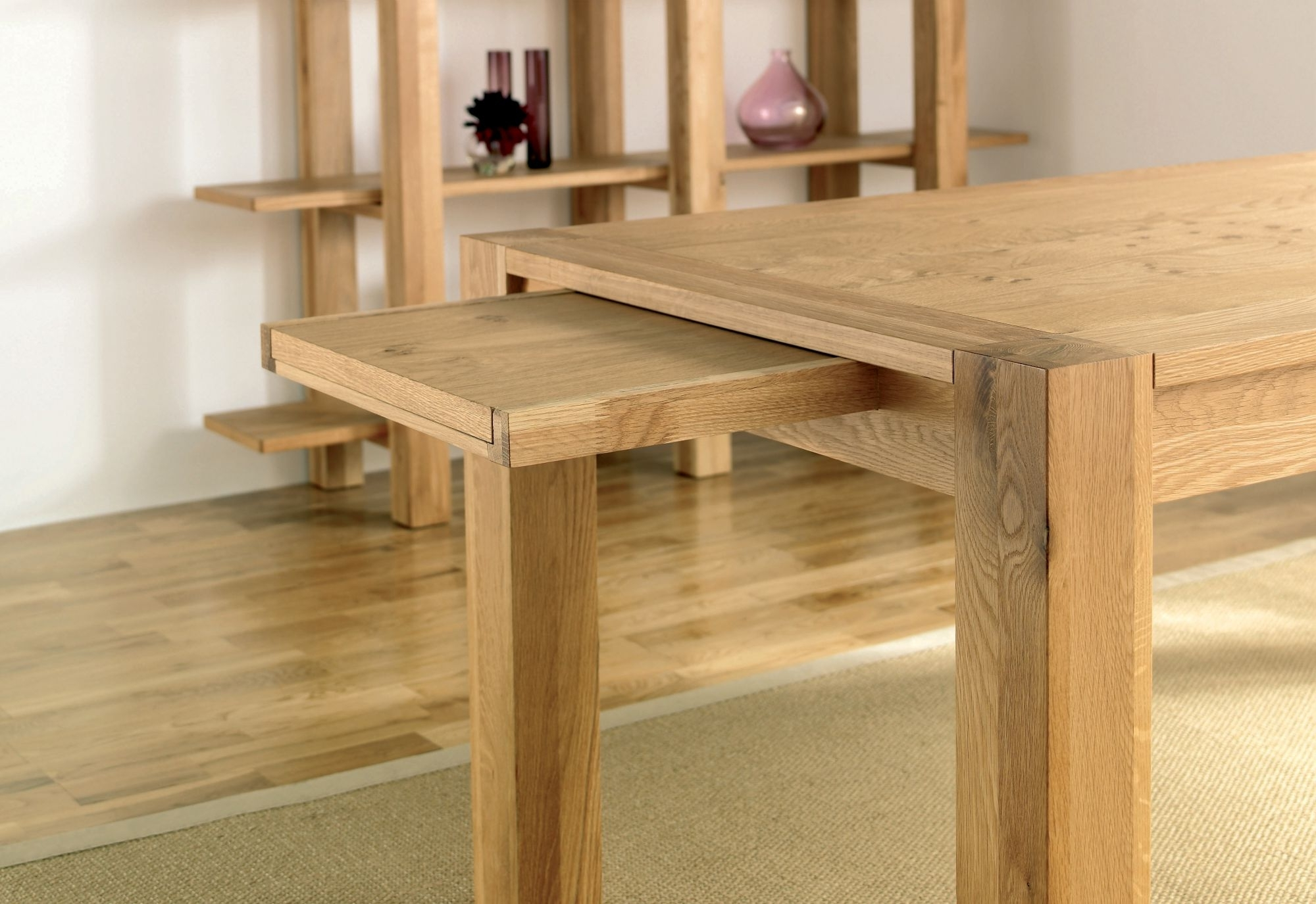 Current Lyon Dining Tables Intended For Lyon 6 8 Double End Extending Table (View 2 of 25)
