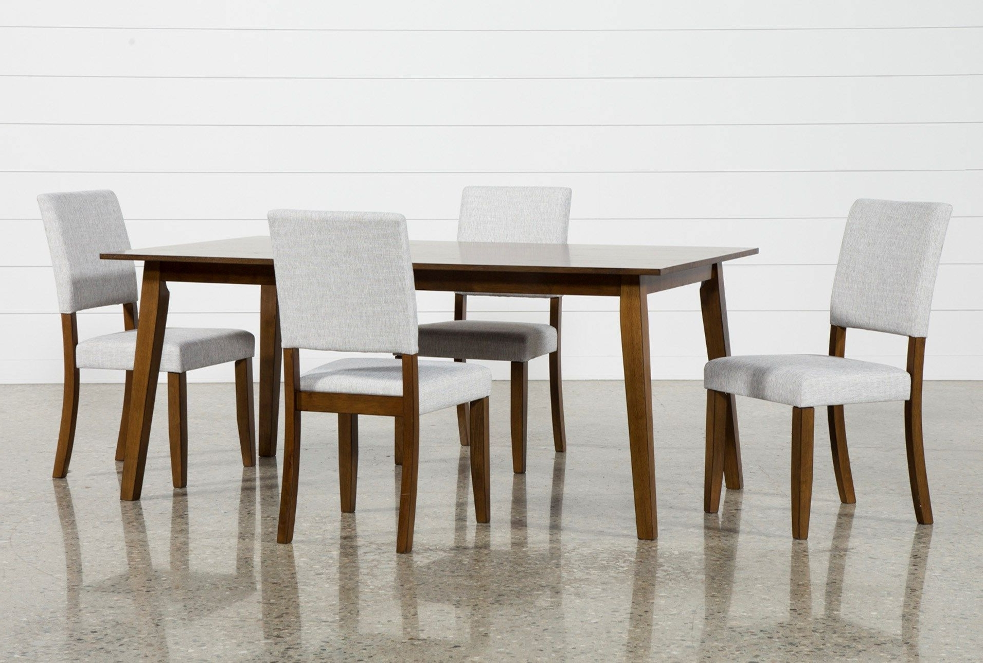 Current Macie 5 Piece Round Dining Sets Regarding Cora 5 Piece Dining Set (View 8 of 25)
