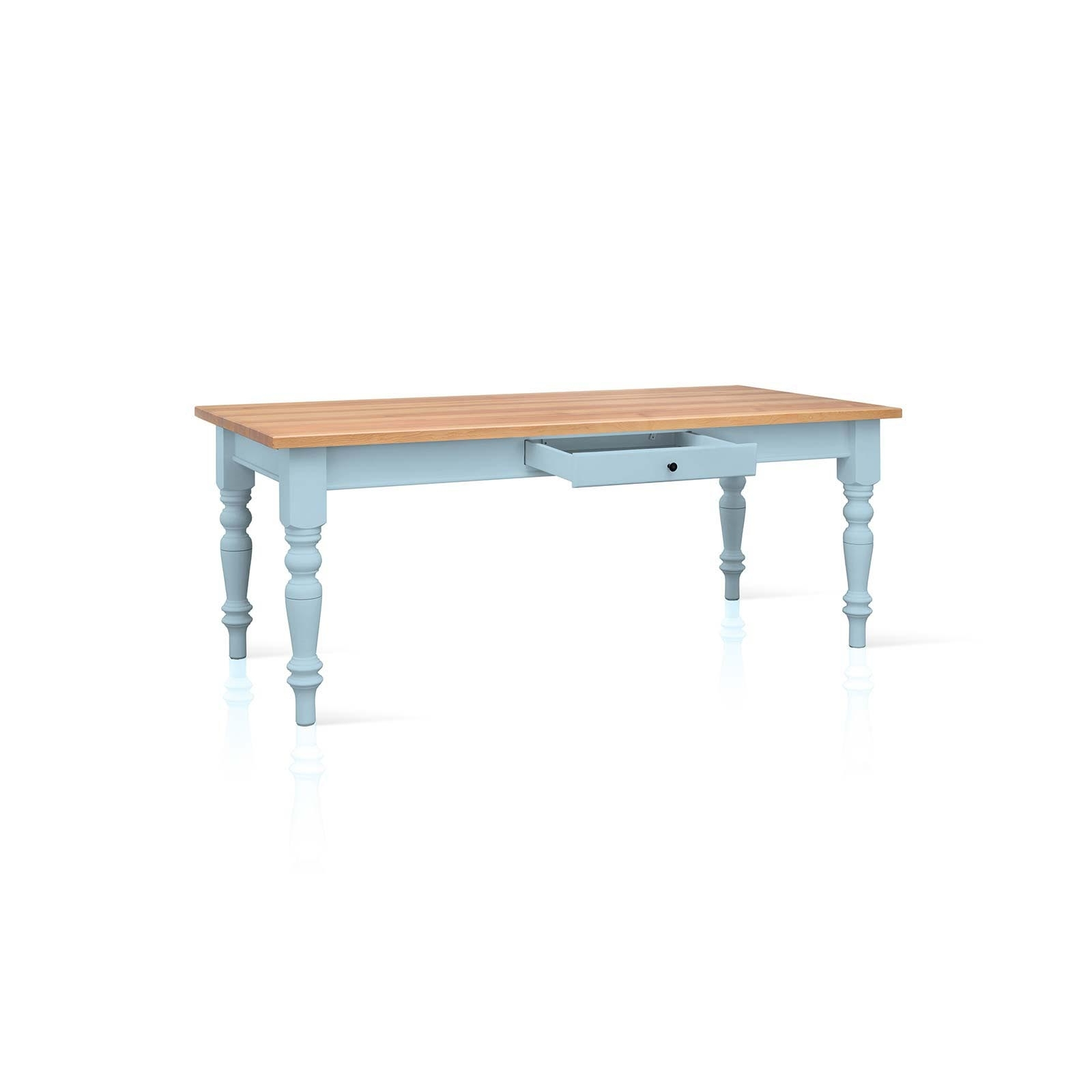 Current Mottisfont Painted Pine 5Ft X 3Ft Dining Table Within 3Ft Dining Tables (View 8 of 25)
