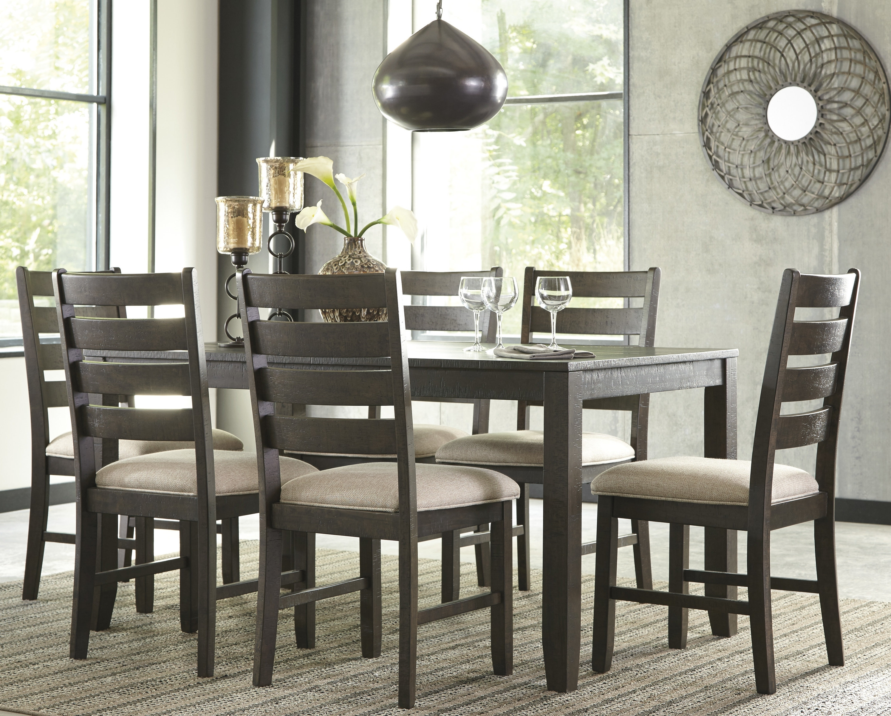 Current Partridge 6 Piece Dining Sets Within Choosing The Right 7 Piece Dining Set – Goodworksfurniture (View 22 of 25)