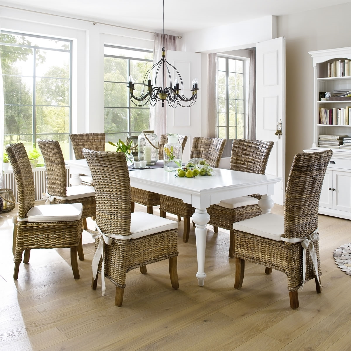 Current Provence Dining Tables Regarding Provence White Cozy Furniture (View 2 of 25)