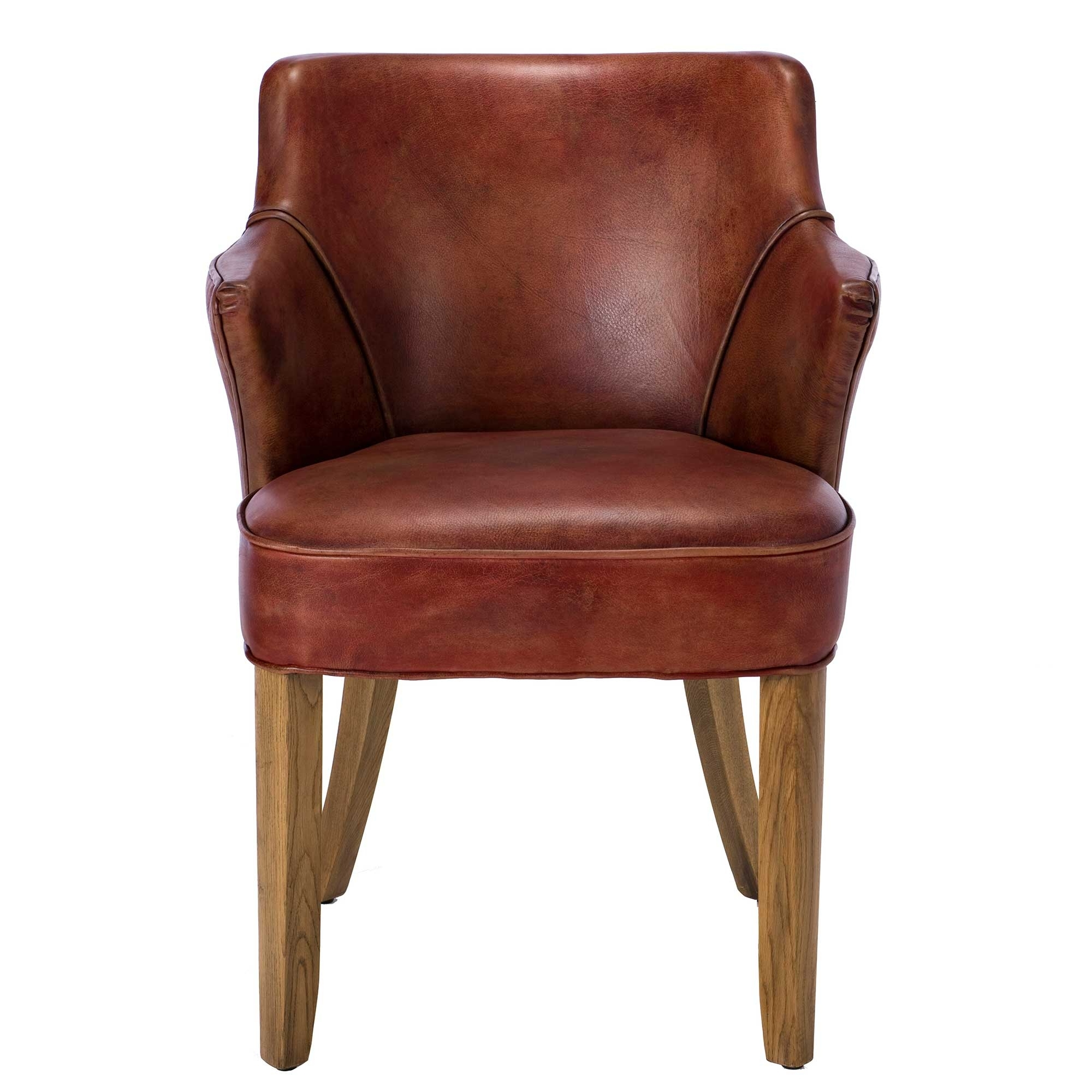 Current Red Leather Dining Chairs In Timothy Oulton Lannister Dining Chair, Vagabond Red Leather (View 2 of 25)