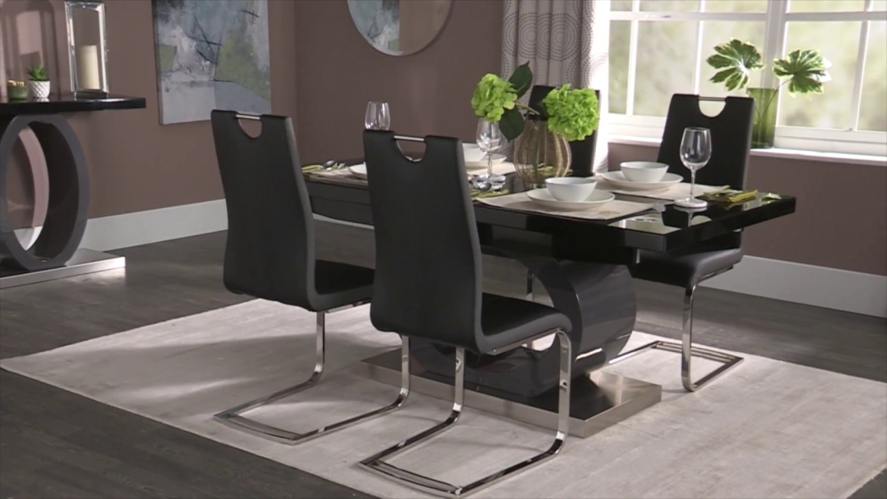 Current Scs Dining Tables Pertaining To Orbit Dining And Occasional – Youtube (View 3 of 25)